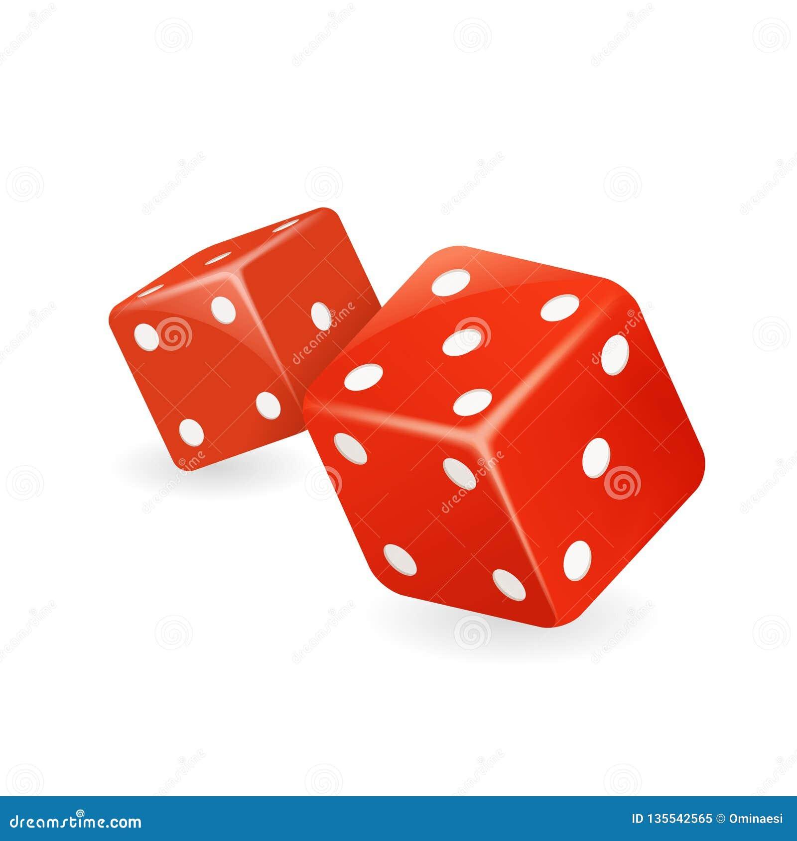 红色模子3d现实赌博娱乐场赌博游戏deisgn被隔绝的象传染媒介例证