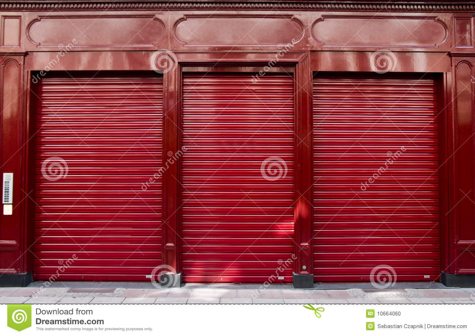 红色界面视窗