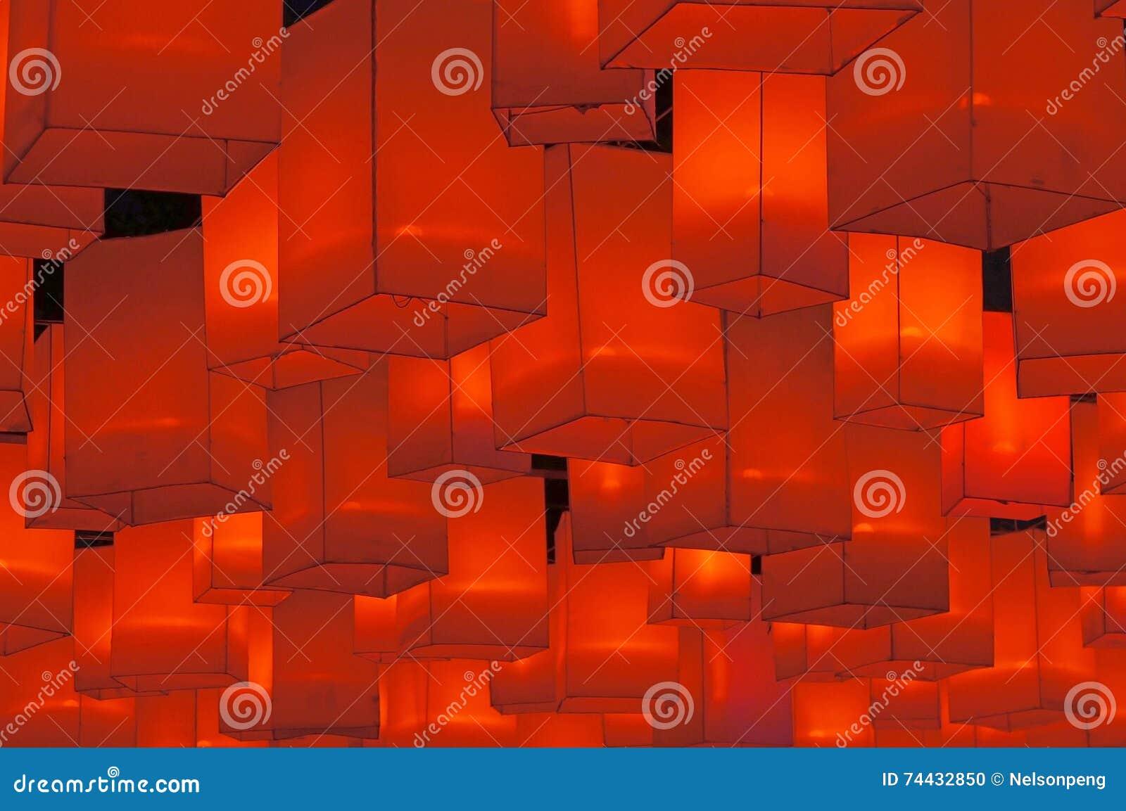 红色的灯笼
