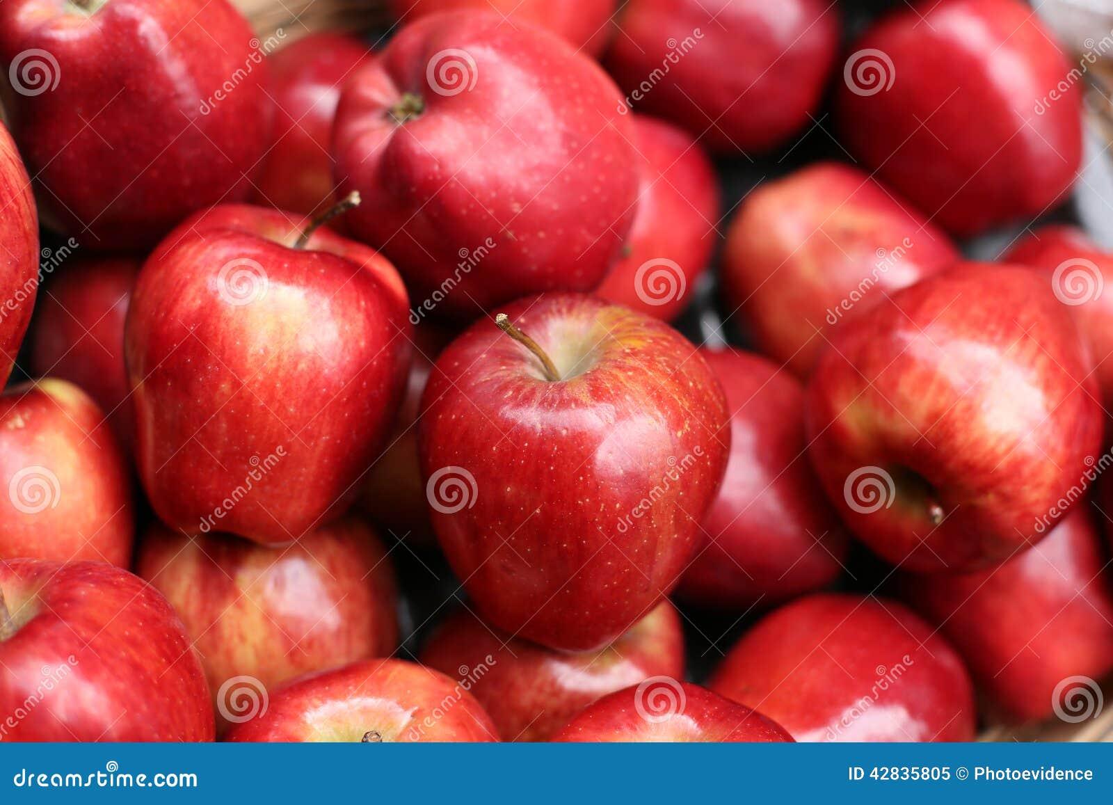 红色的苹果