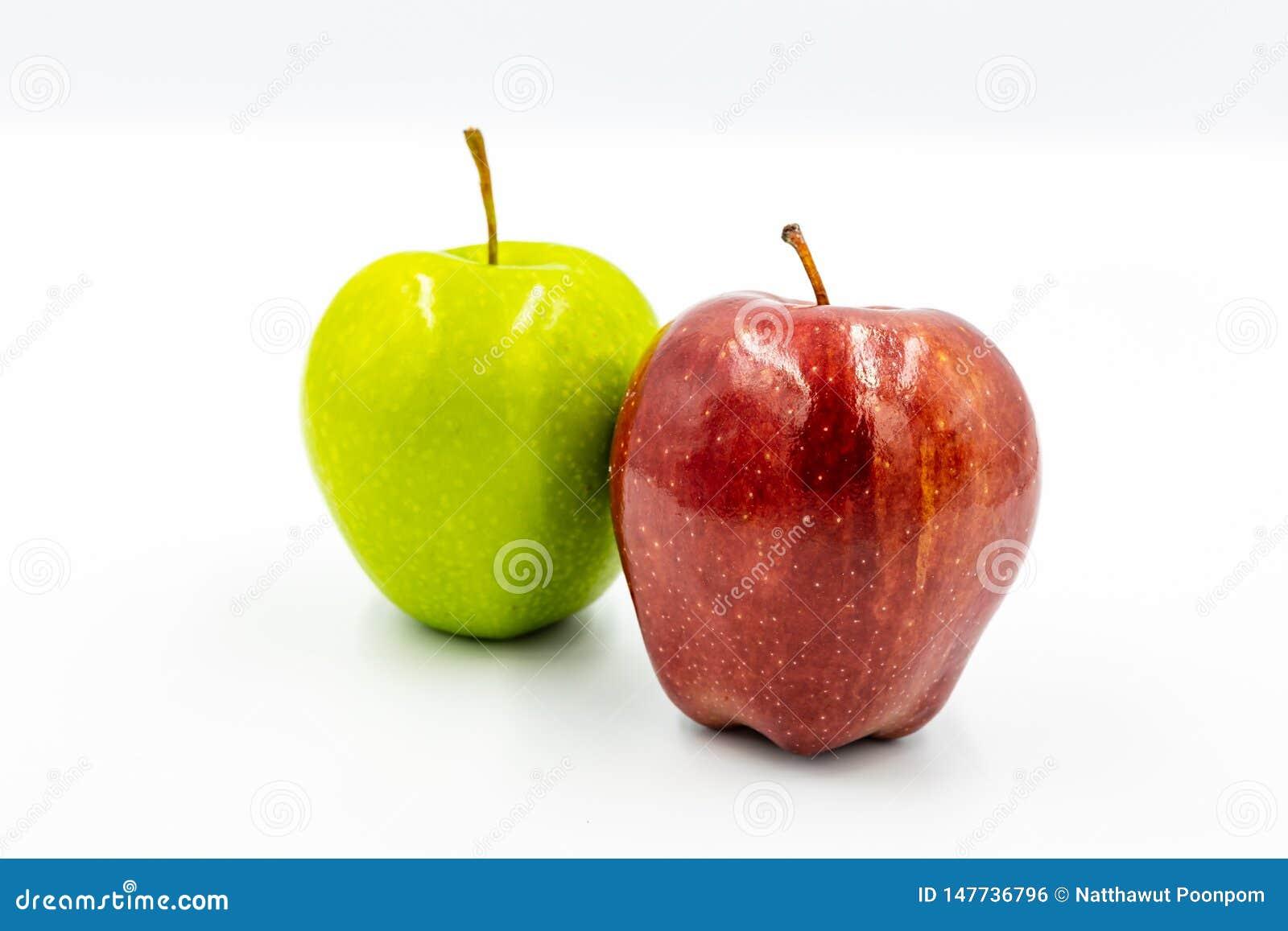 红色苹果和绿色苹果