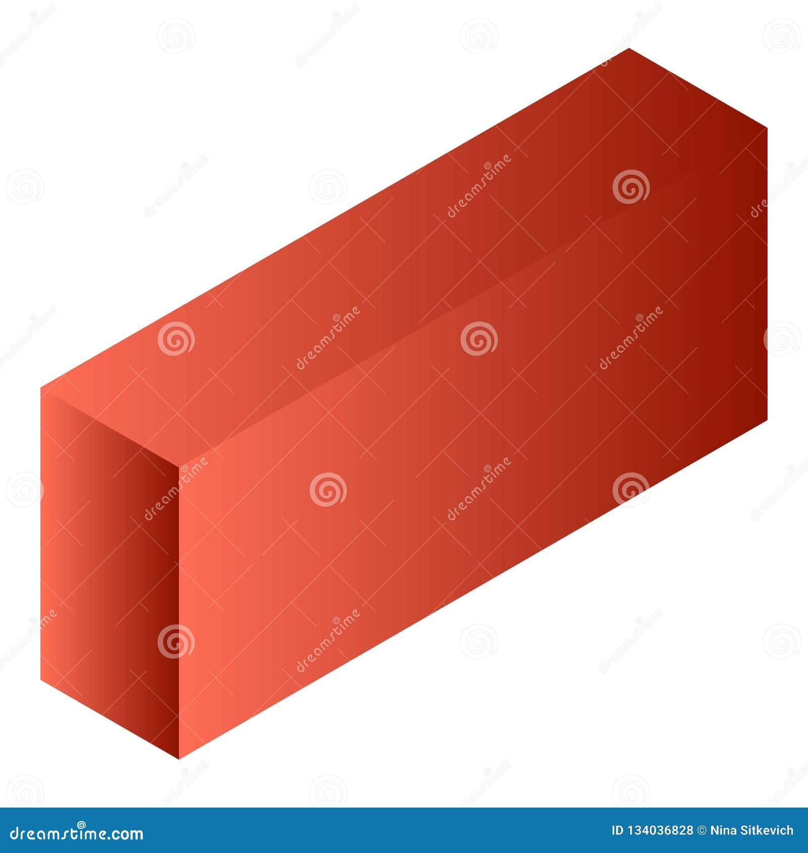 红色茶箱子象,等量样式