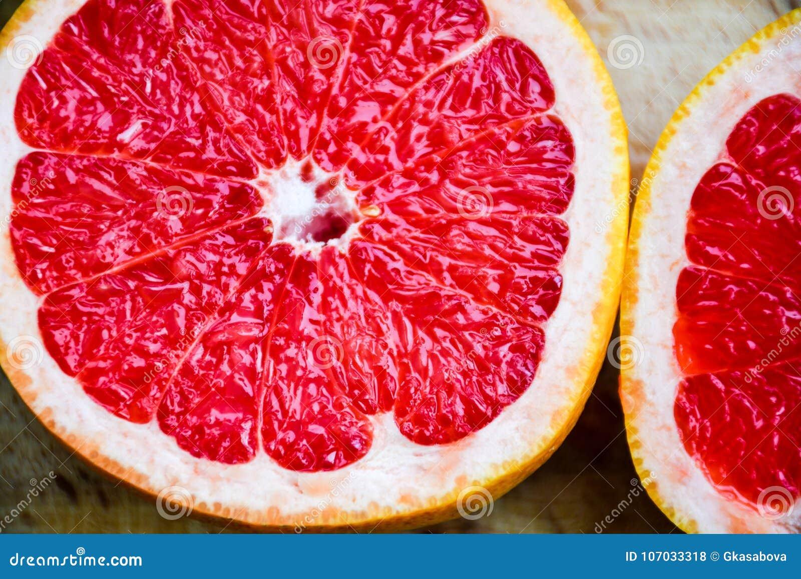 红色葡萄柚
