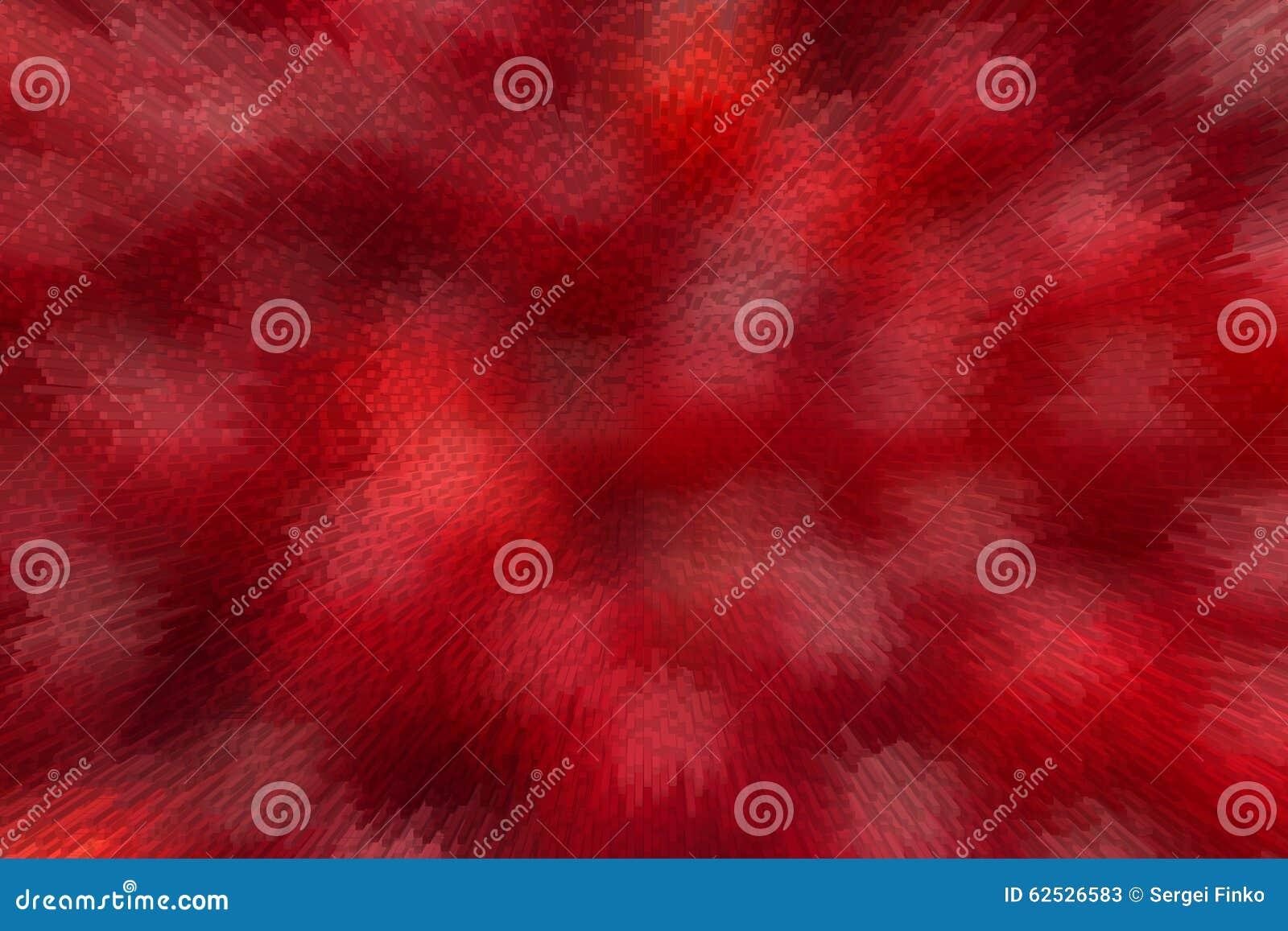 红色被弄脏的背景