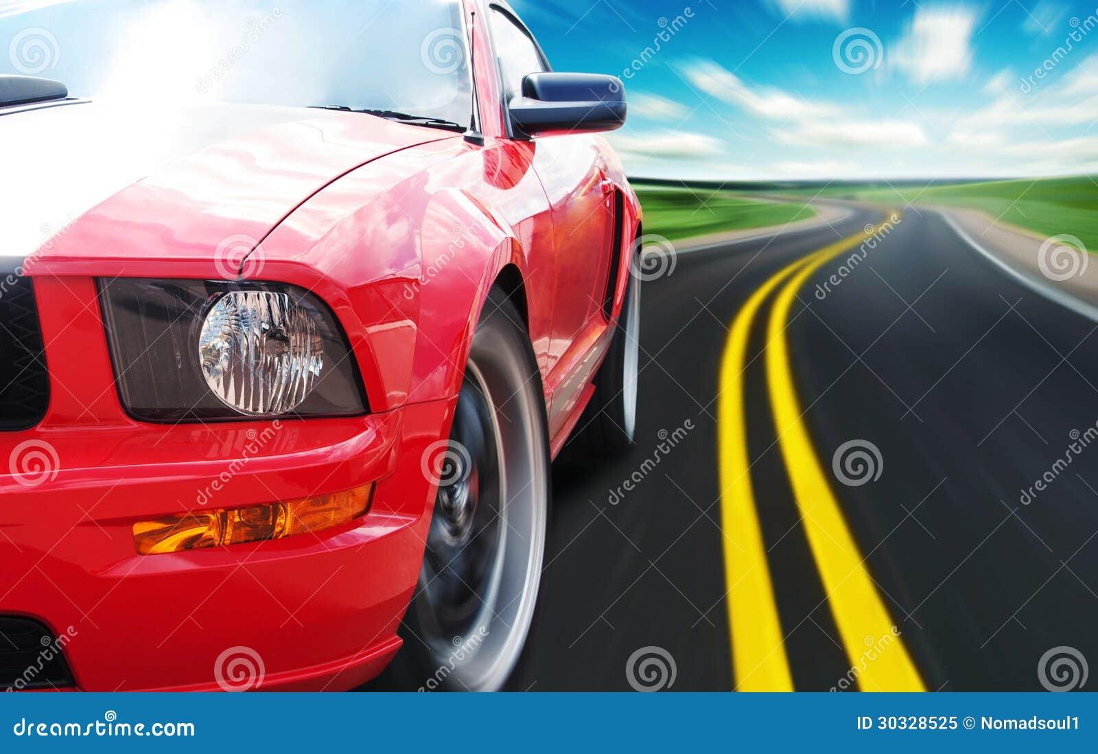 Download 红色跑车 库存图片. 图片 包括有 国家(地区), 高速公路, 汽车, 赛跑, 模式, 本质, 颜色, 快速 - 30328525