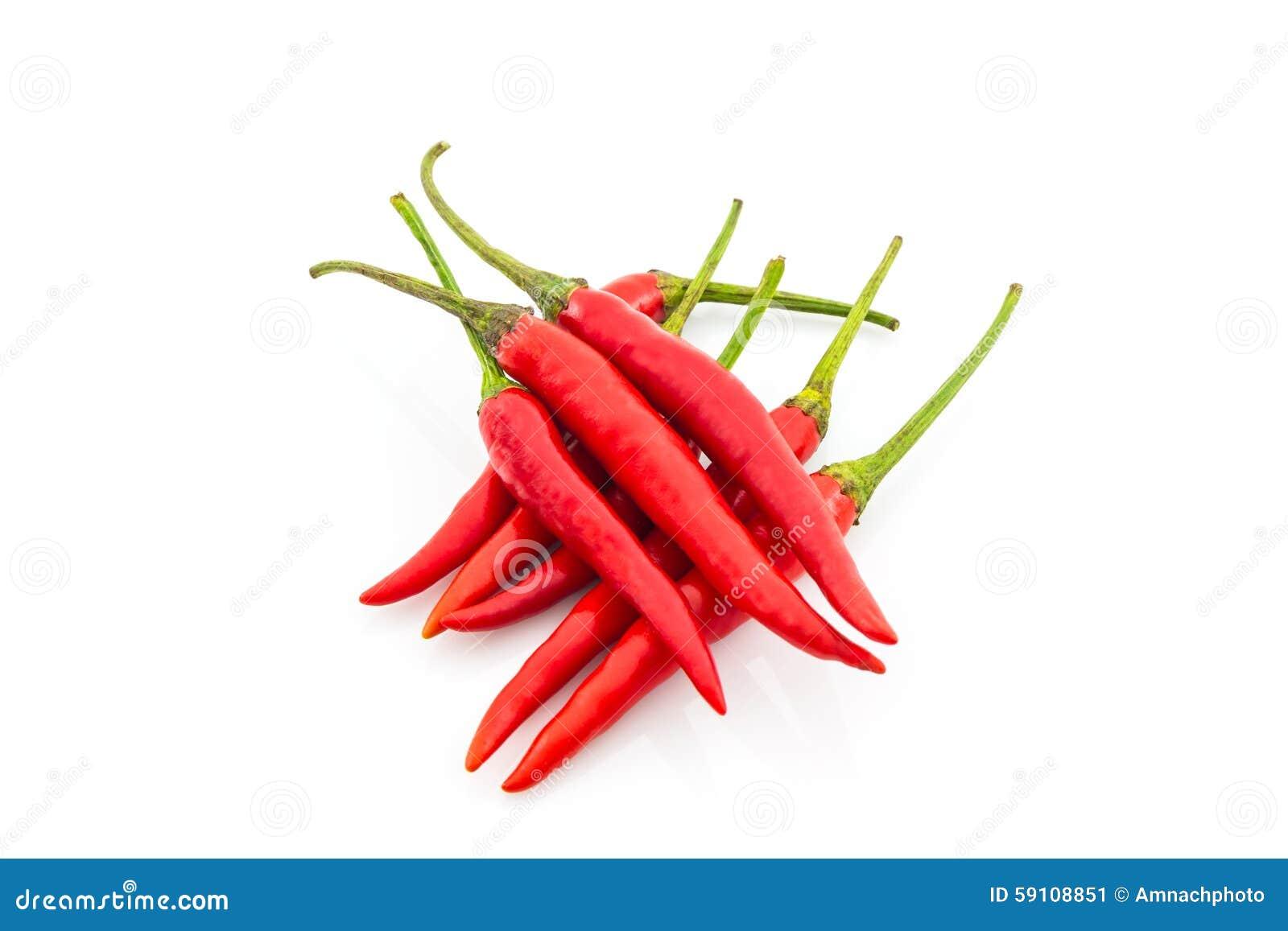 红色辣椒或辣椒
