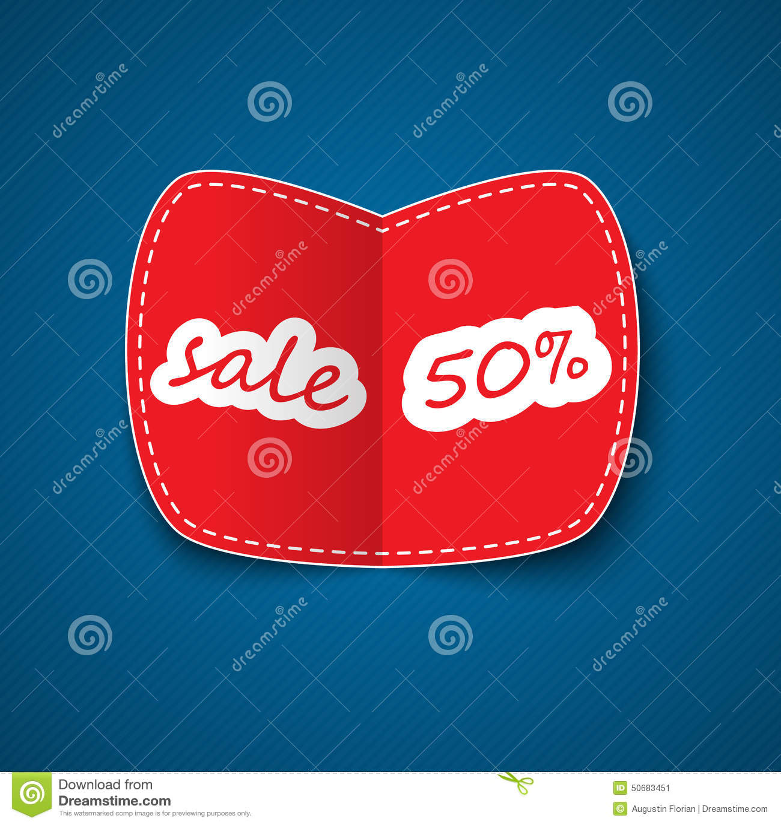 Download 红色销售优惠券 向量例证. 插画 包括有 海报, 采购, 设计, 装饰, 干净, 模式, 标签, barf - 50683451