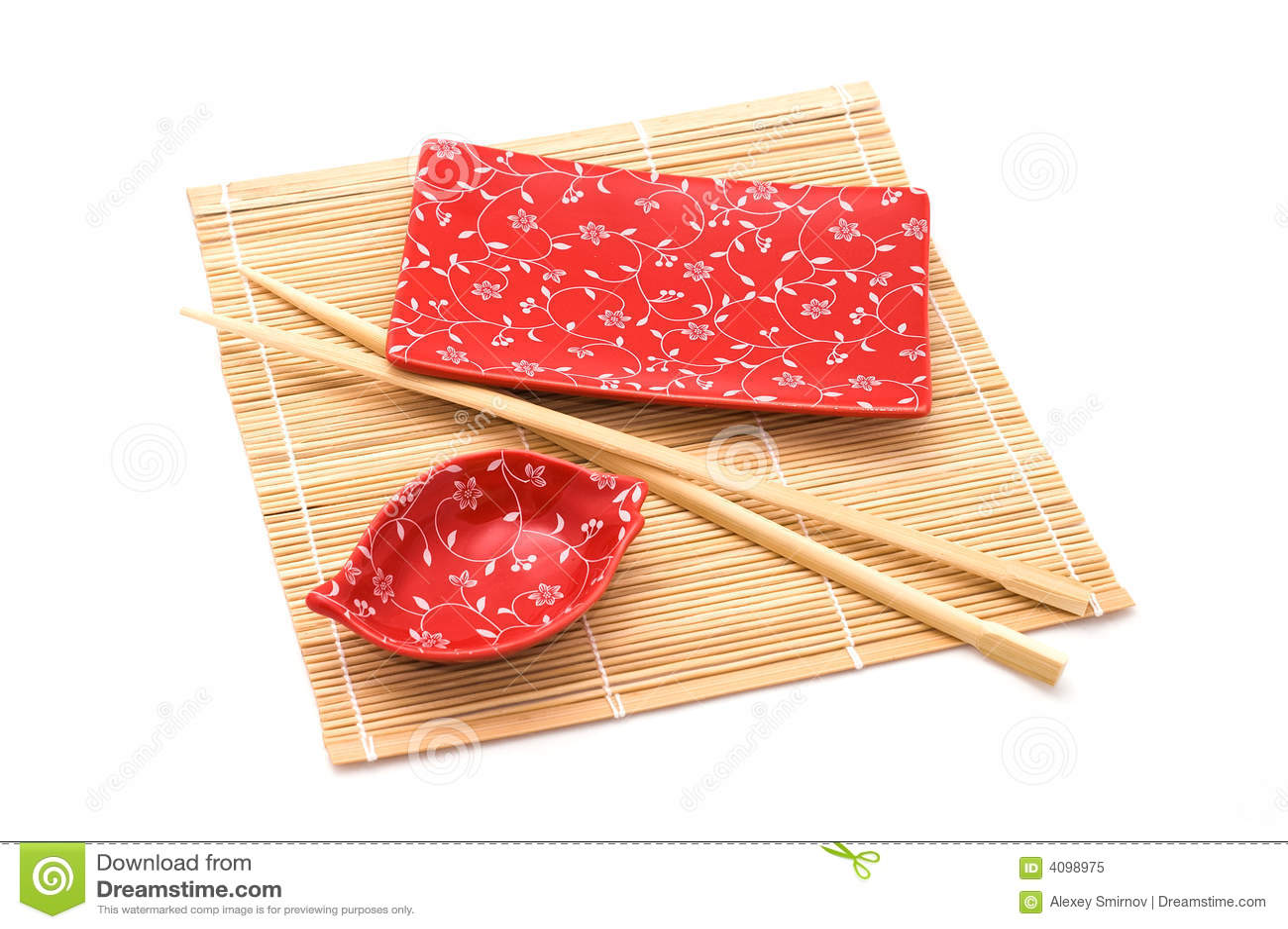 红色集合寿司