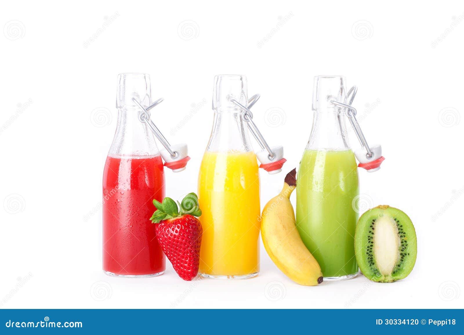 红色黄绿色果汁