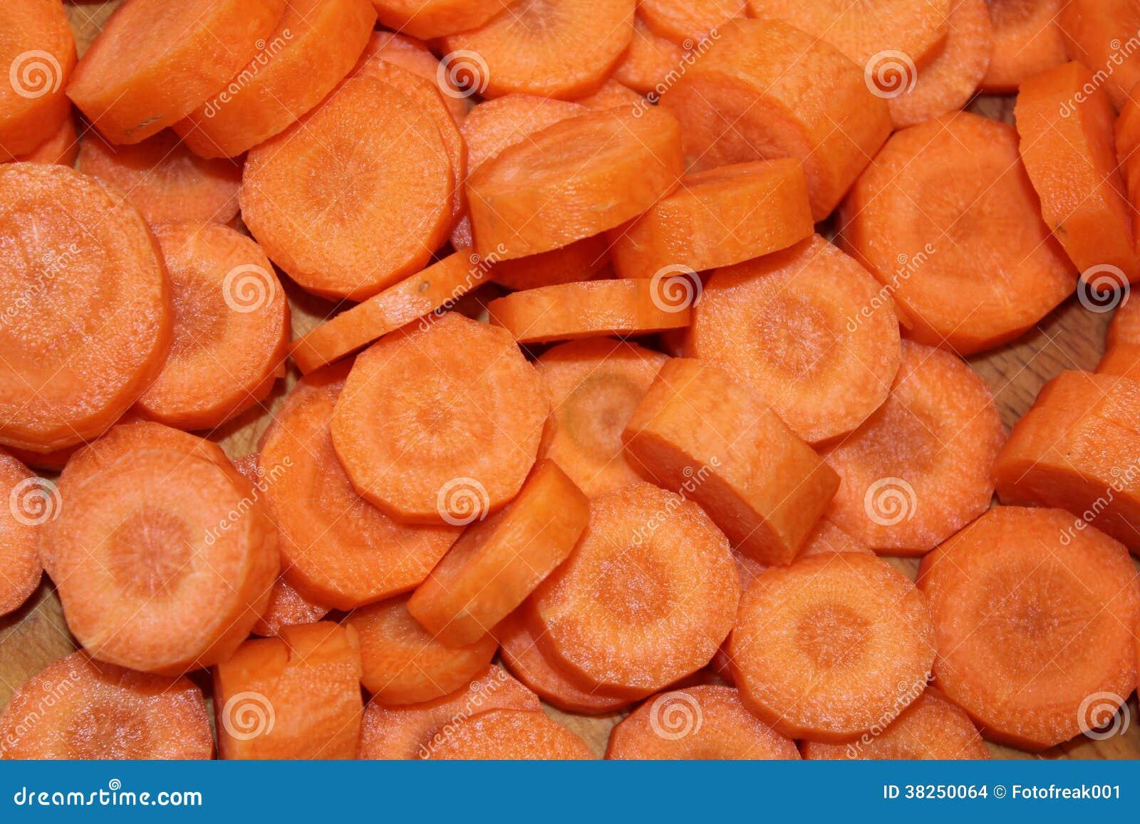 红萝卜切片