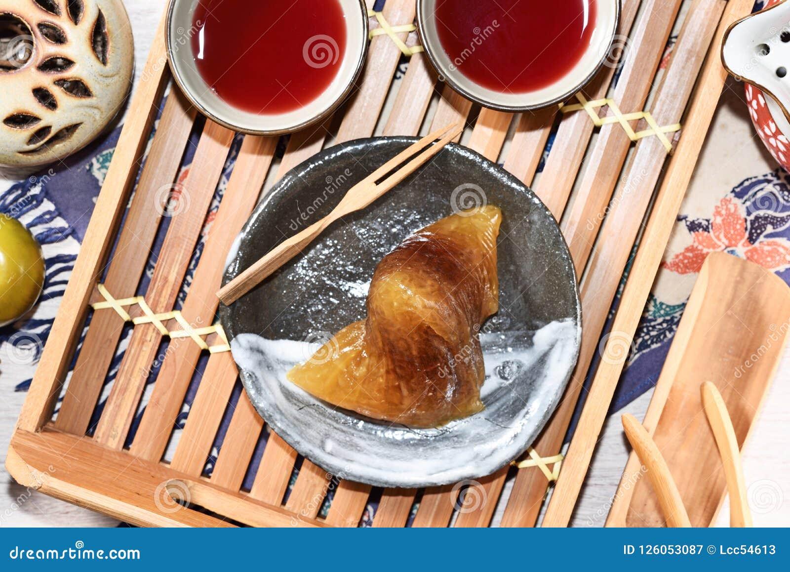 红豆碱性zongzi