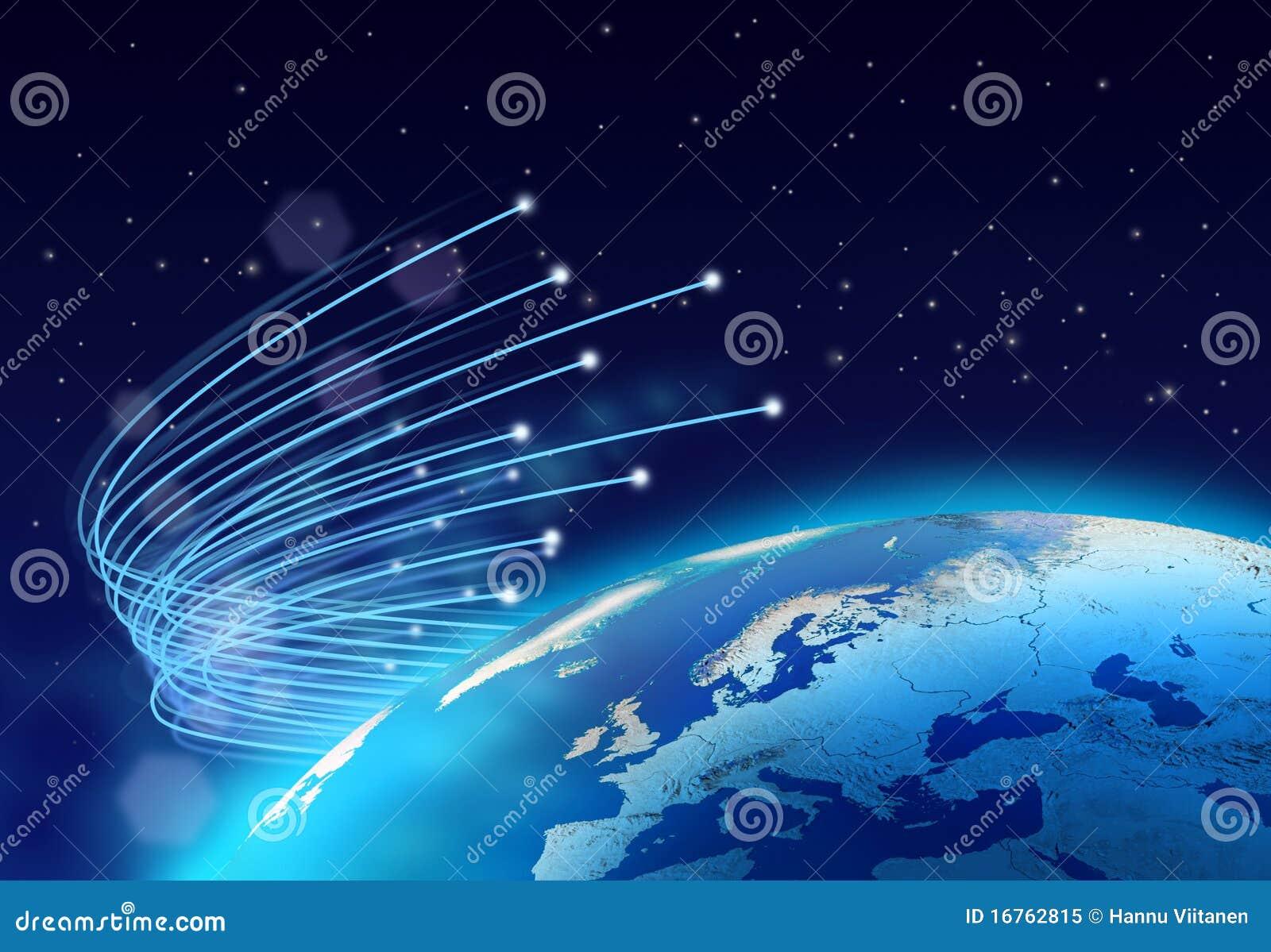 纤维互联网光学行星速度