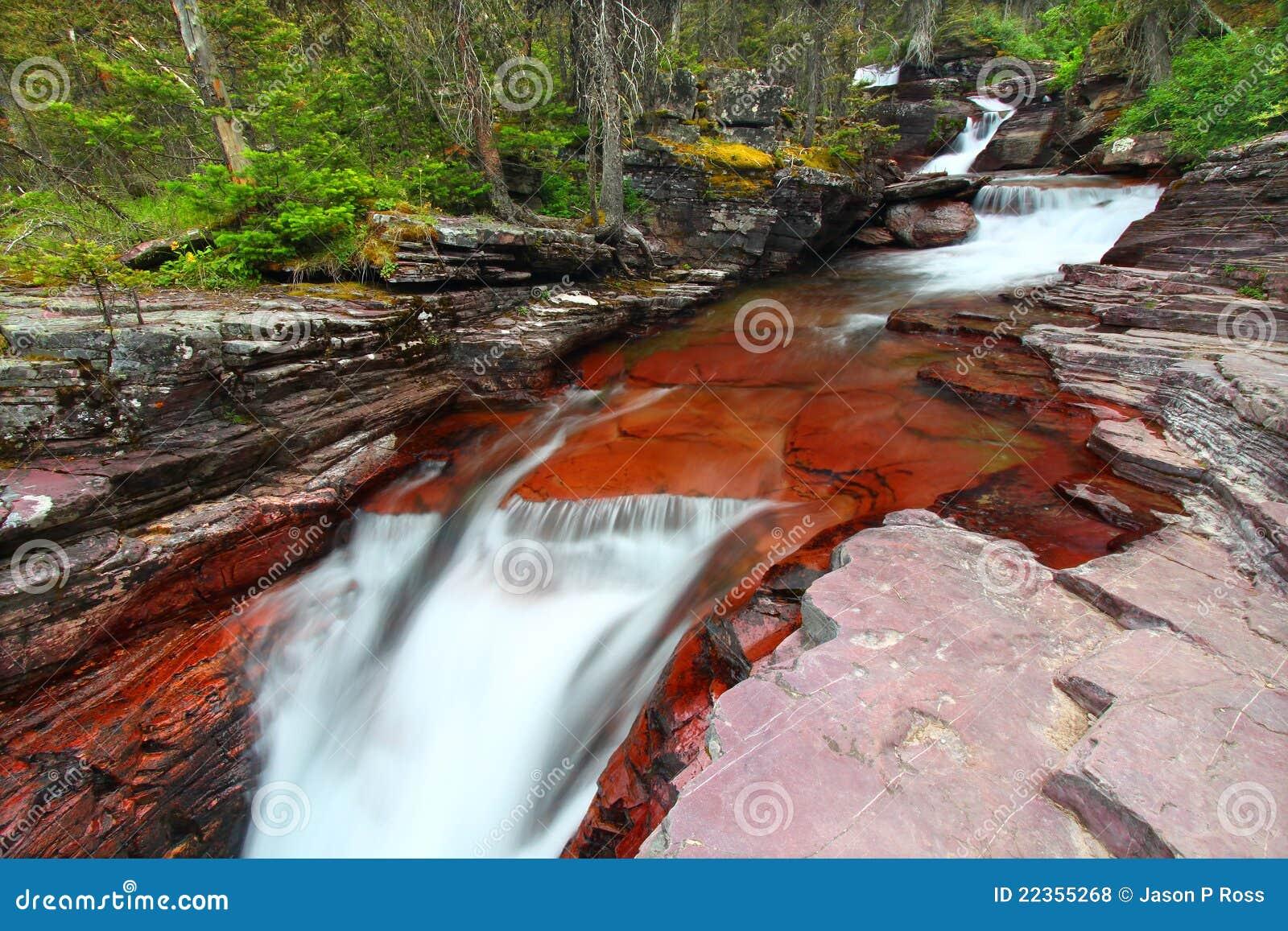 级联冰川国家公园