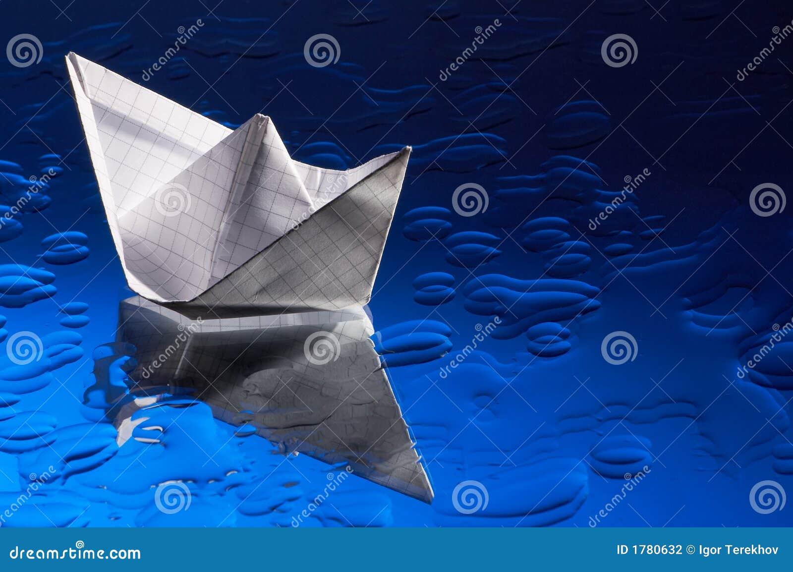 Paper ship.