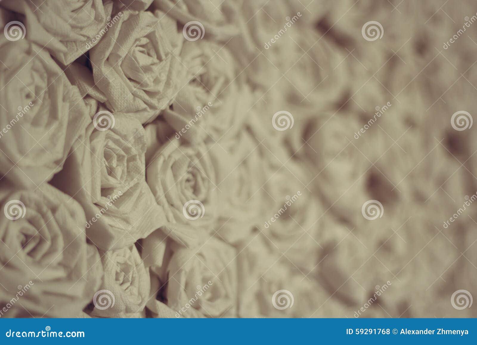 纸葡萄酒玫瑰