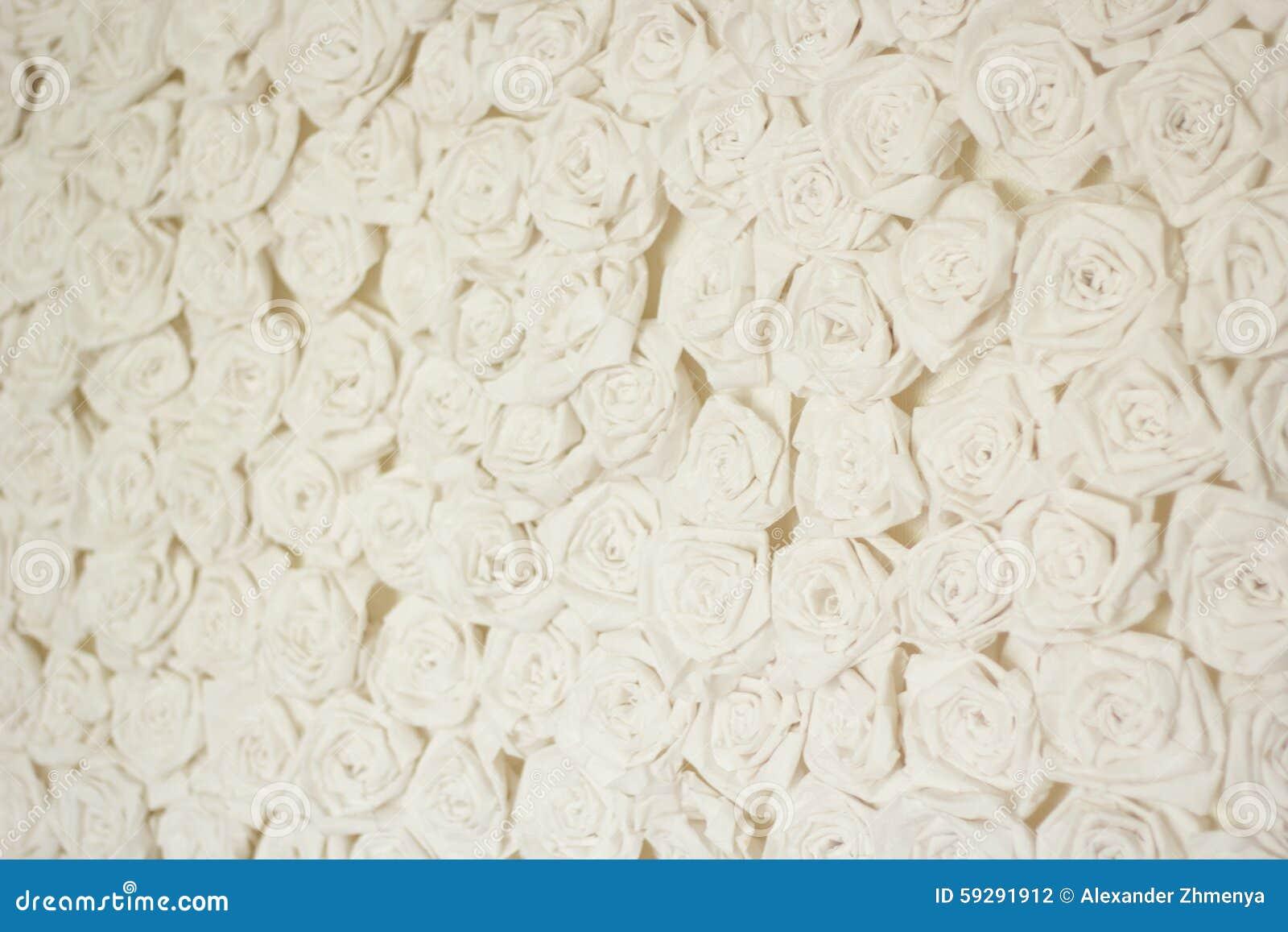 纸葡萄酒白玫瑰