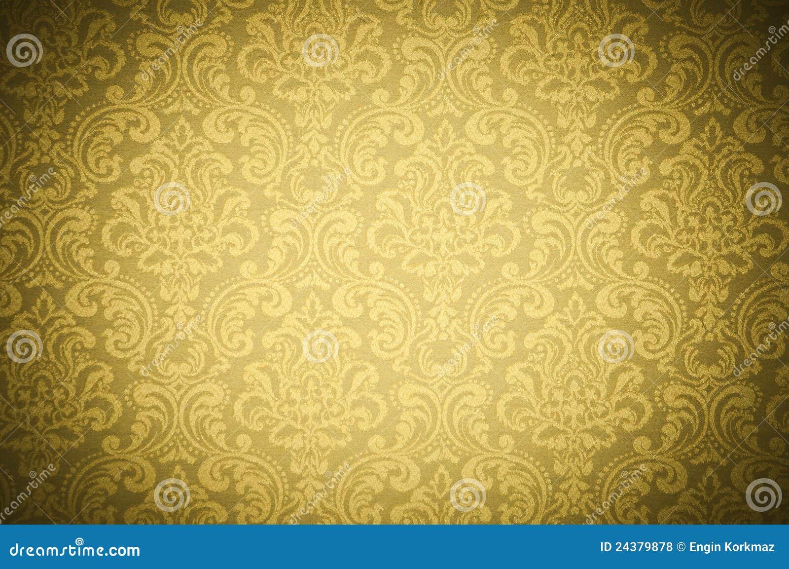 纹理墙纸黄色