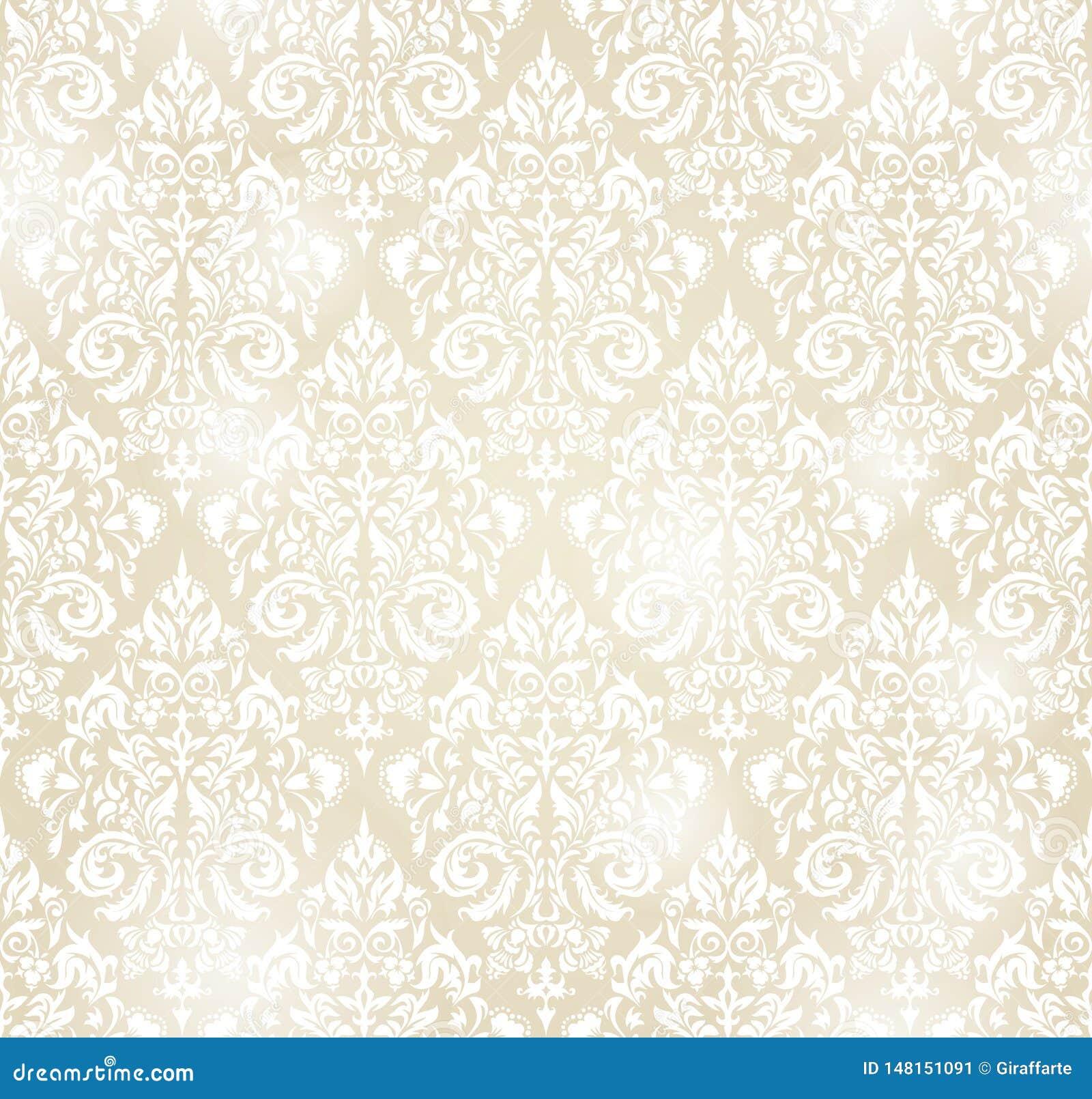 纺织品、纸或者表面纹理的传染媒介无缝的样式backgroundin葡萄酒样式