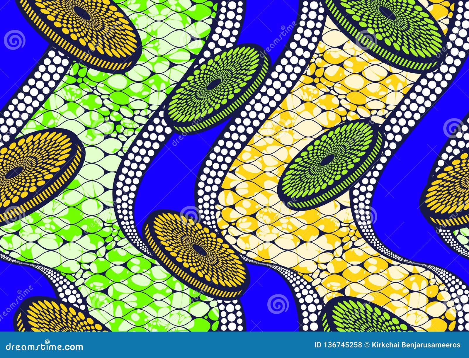 纺织品时尚非洲印刷品织品超级蜡