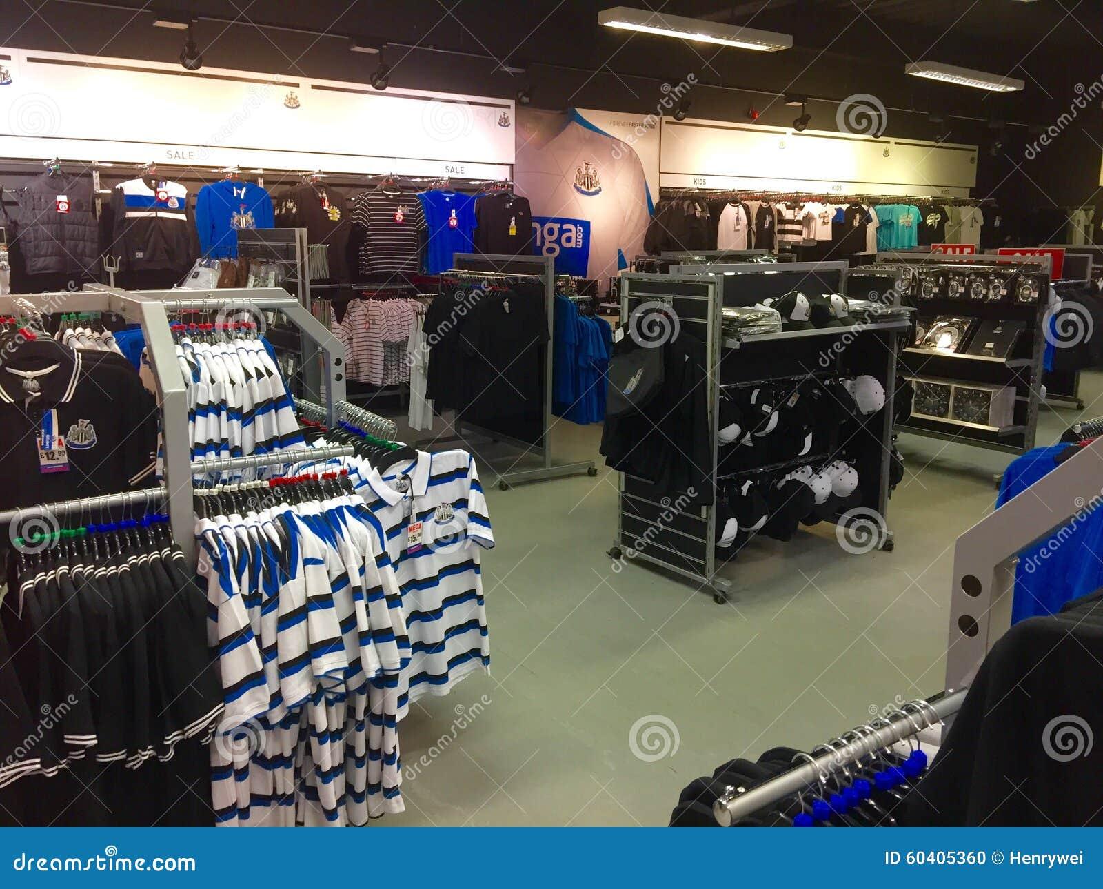 纽卡斯尔联足球俱乐部橄榄球俱乐部商店