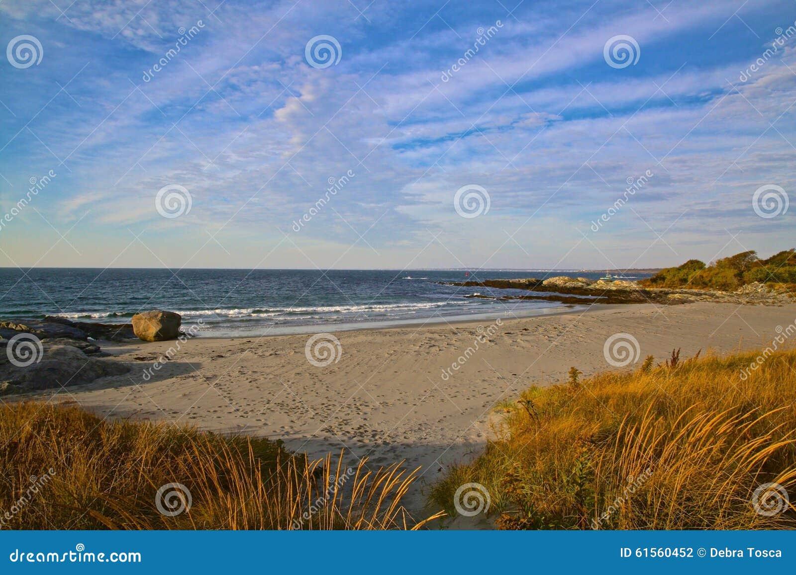 纽波特罗德岛州海滩