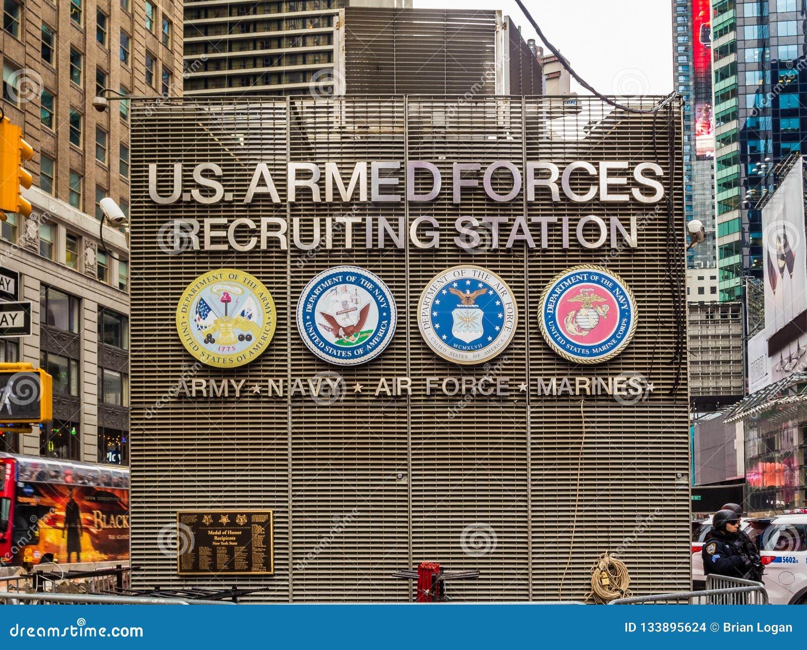 纽约,NY/United状态2月 17日2016年:时报广场U S 犰狳