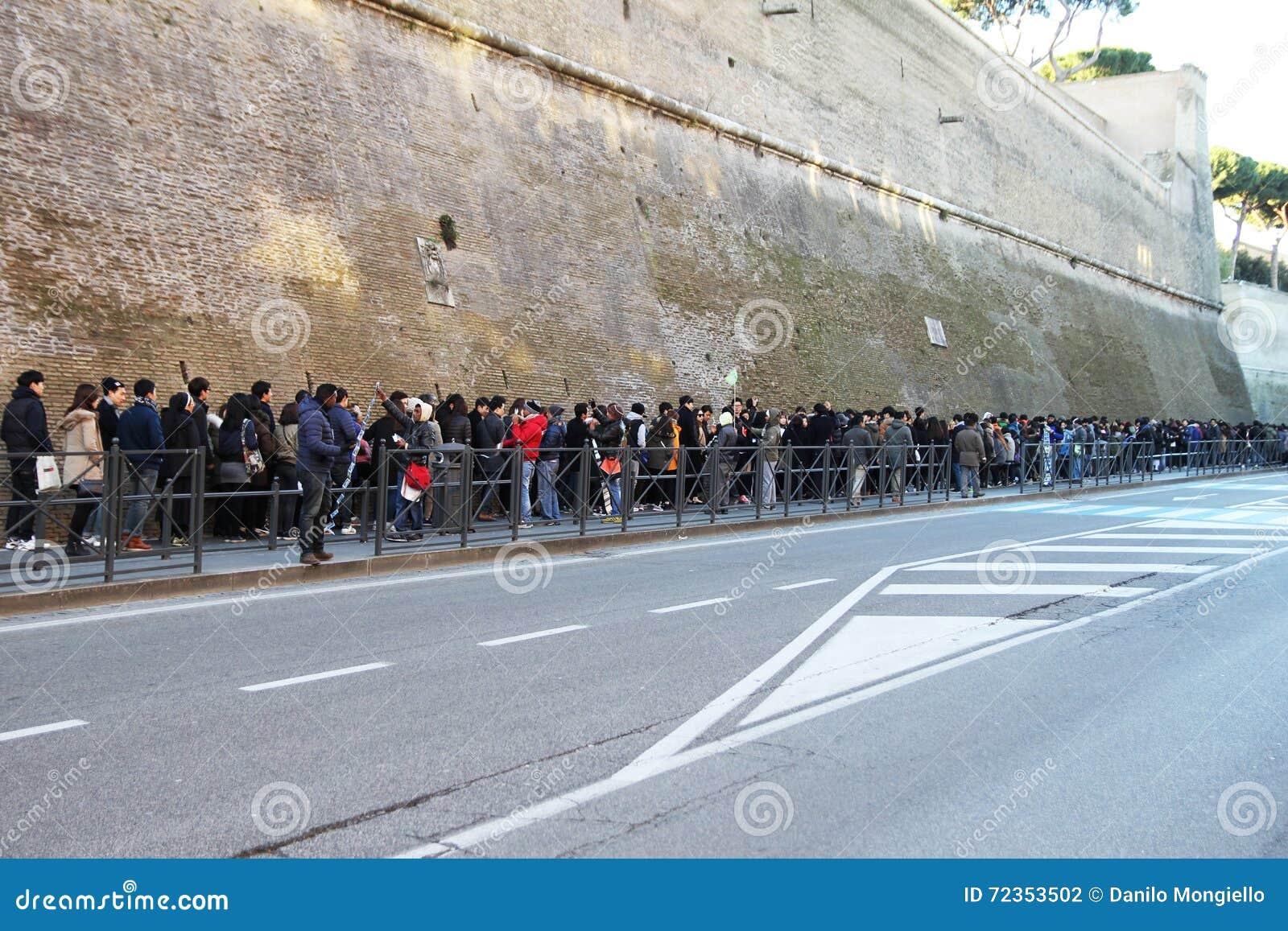 线在梵蒂冈