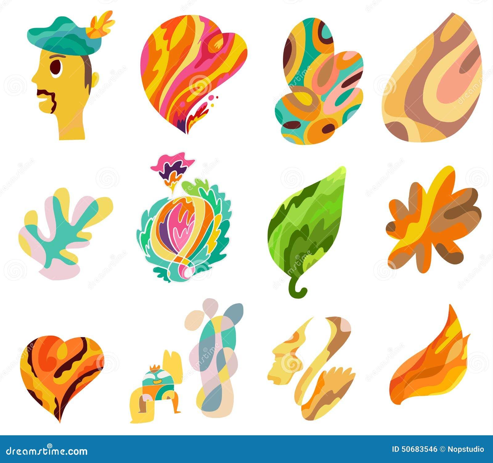 Download 线艺术的颜色 向量例证. 插画 包括有 鼻子, 帽子, 乱画, 重点, 五颜六色, 线路, 云彩, 例证 - 50683546