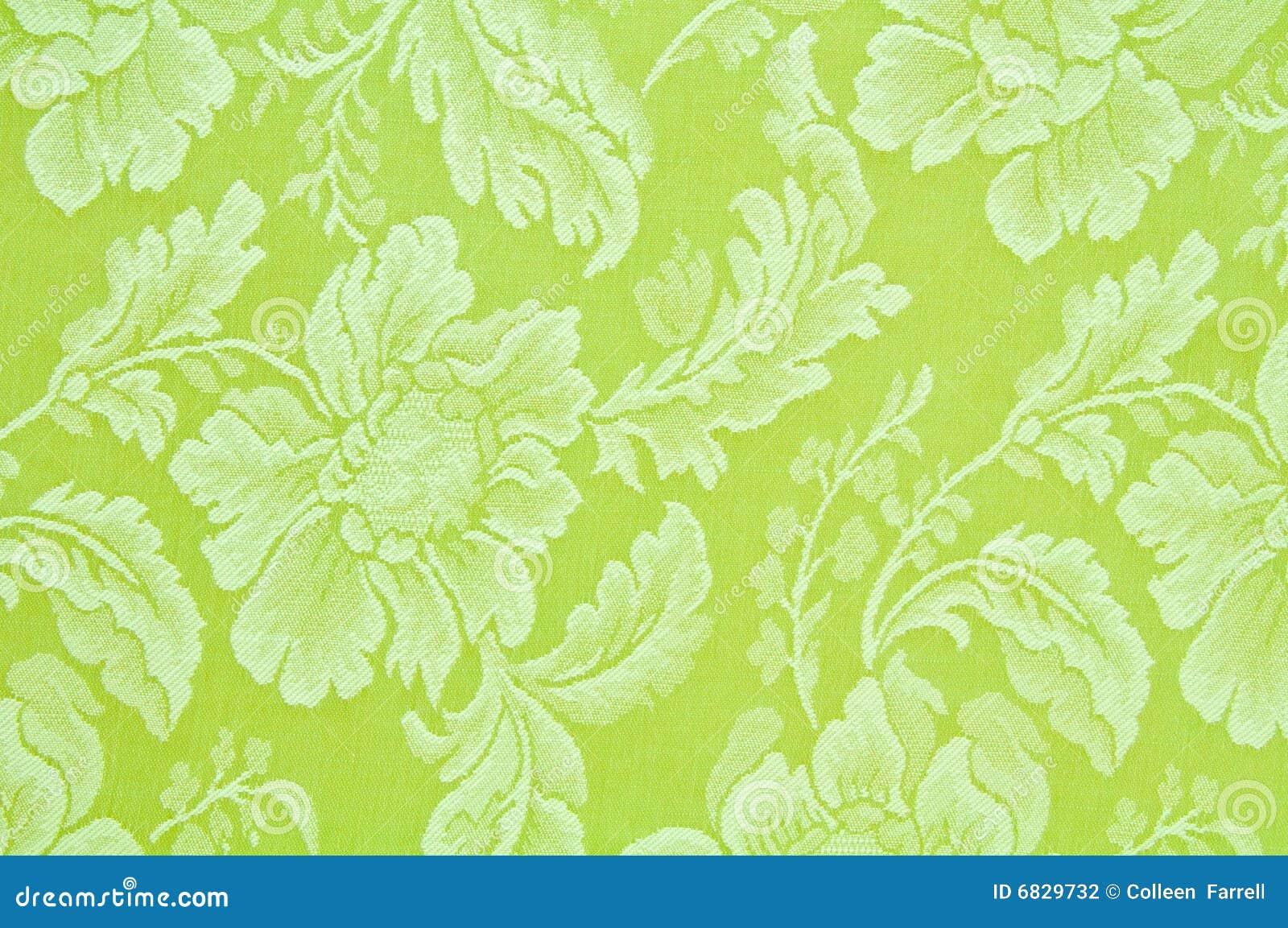 织品花卉绿色模式
