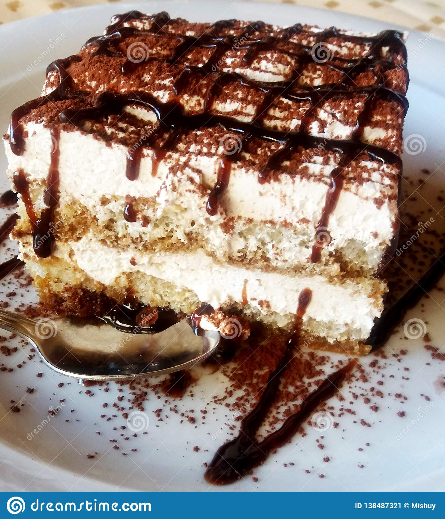 经典点心提拉米苏蛋糕