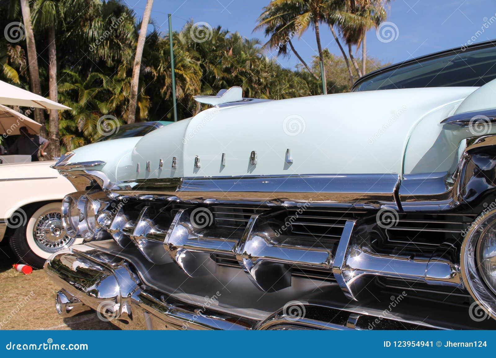经典豪华美国皇家汽车细节