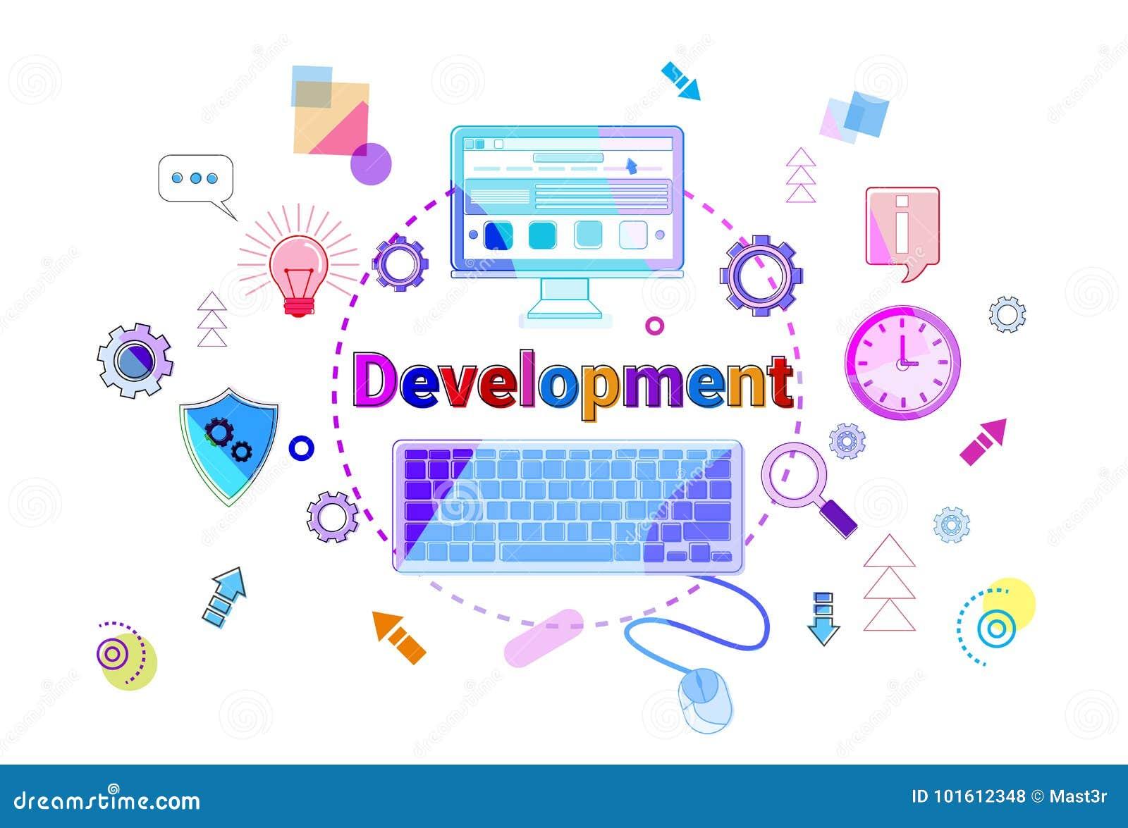 经营战略发展概念项目计划横幅