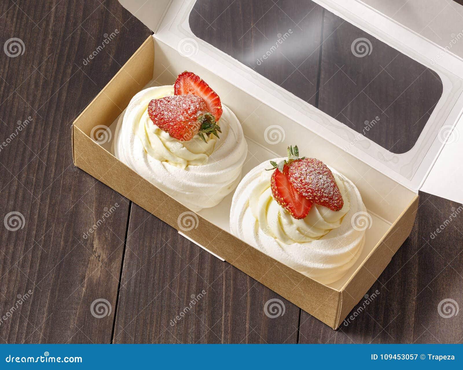 结块,点心用在箱子的草莓