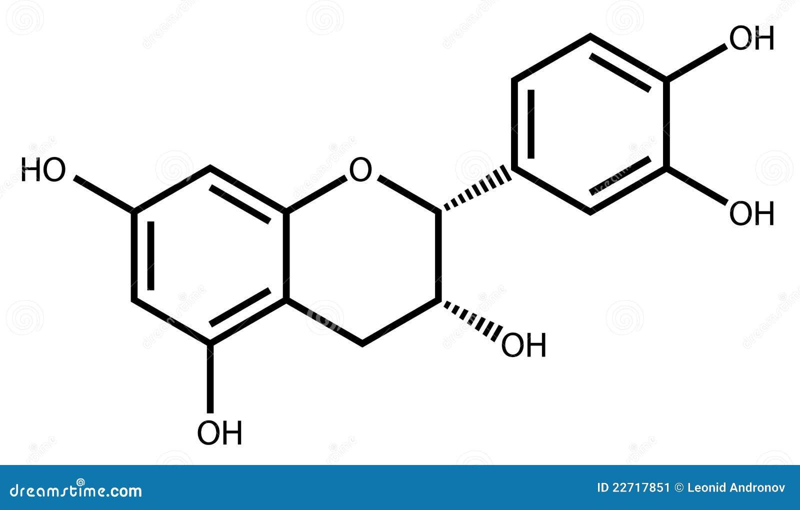 结构上表儿茶素的配方