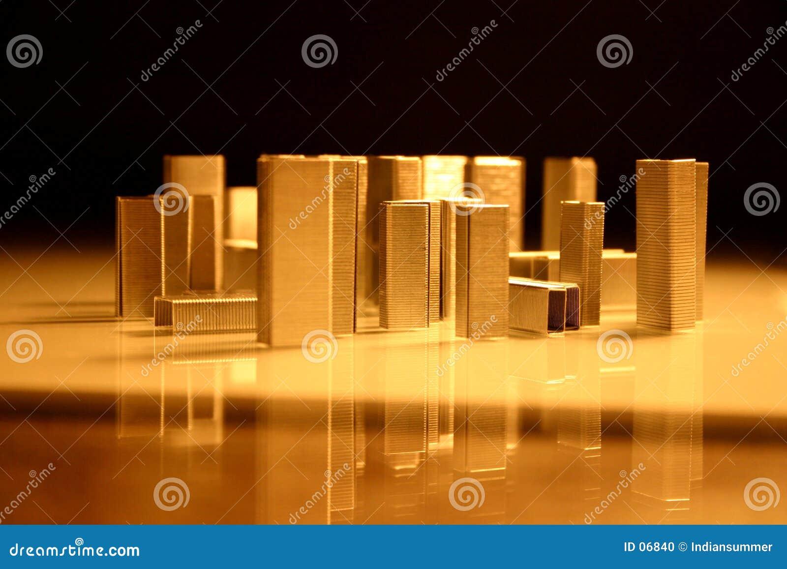 结构城市我钉书针