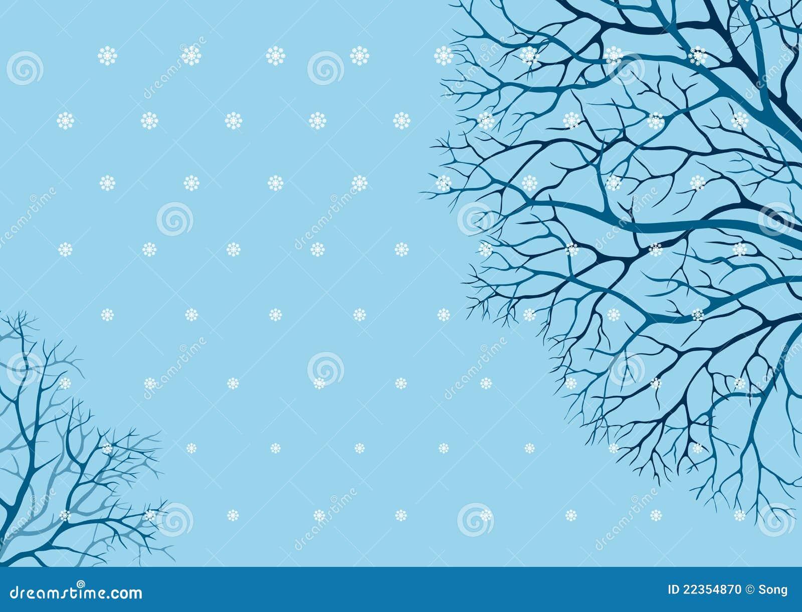 结构树冬天