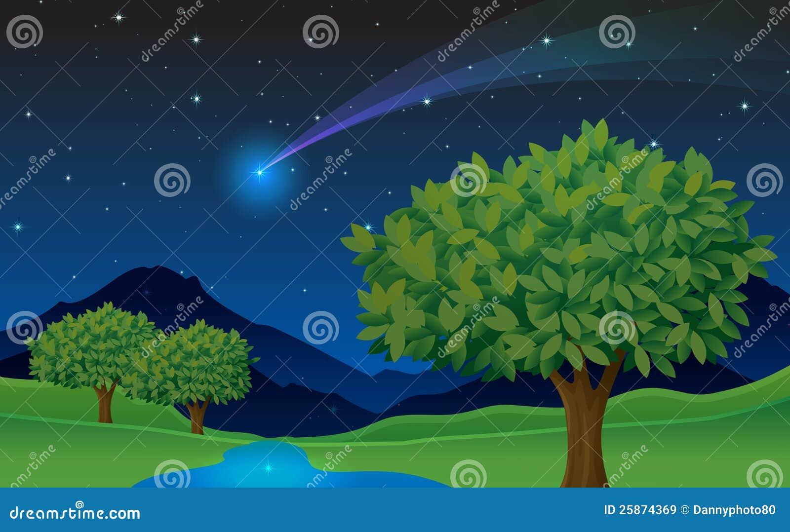 结构树和彗星