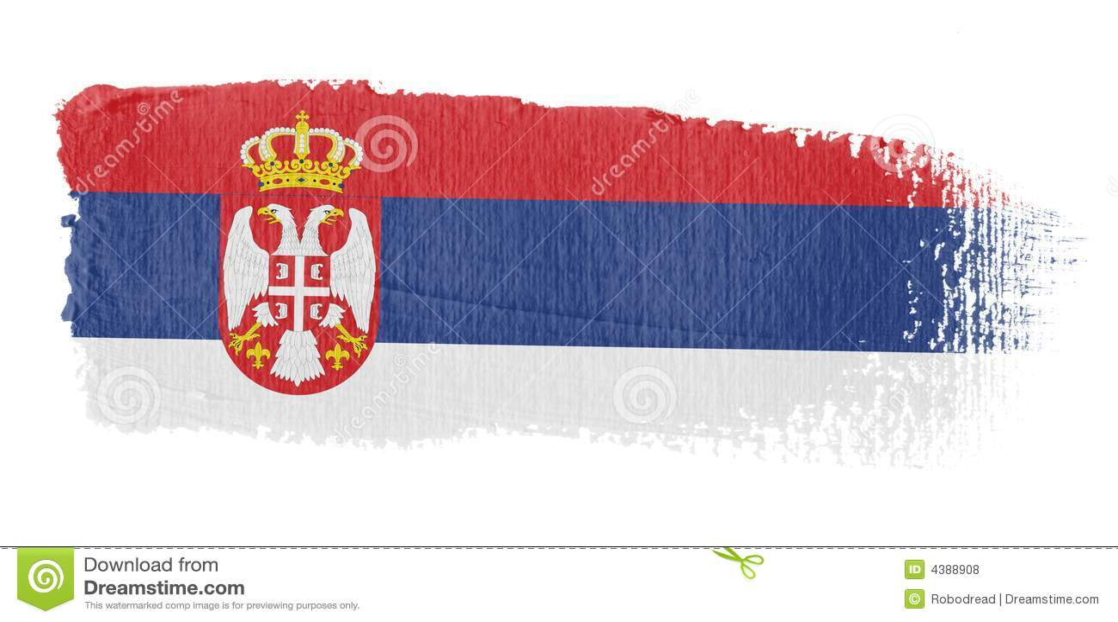 绘画的技巧标志塞尔维亚