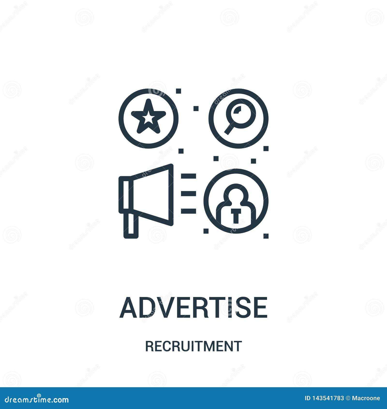 给从补充汇集的象传染媒介做广告 稀薄的线给概述象传染媒介例证做广告