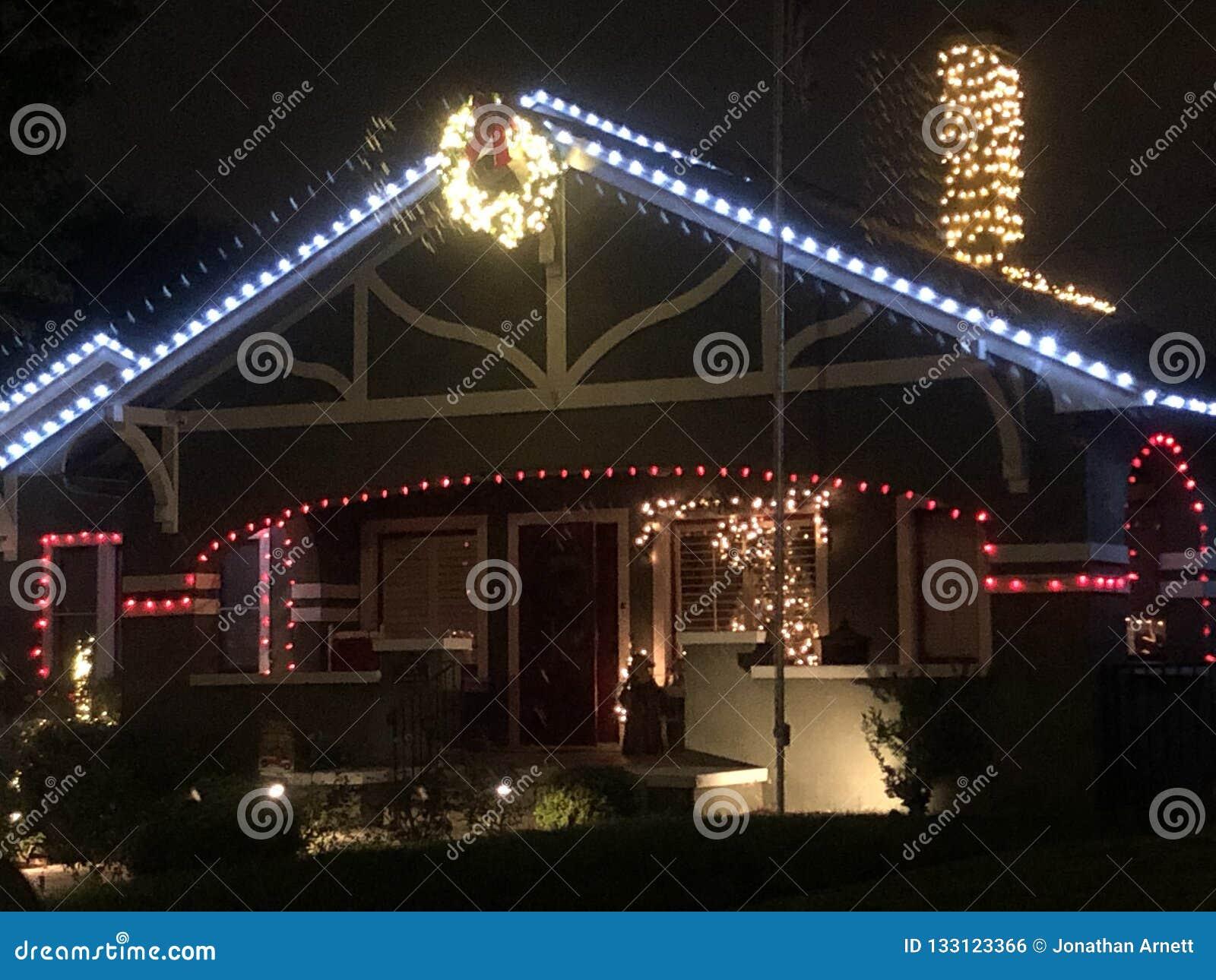 维多利亚女王时代的圣诞灯