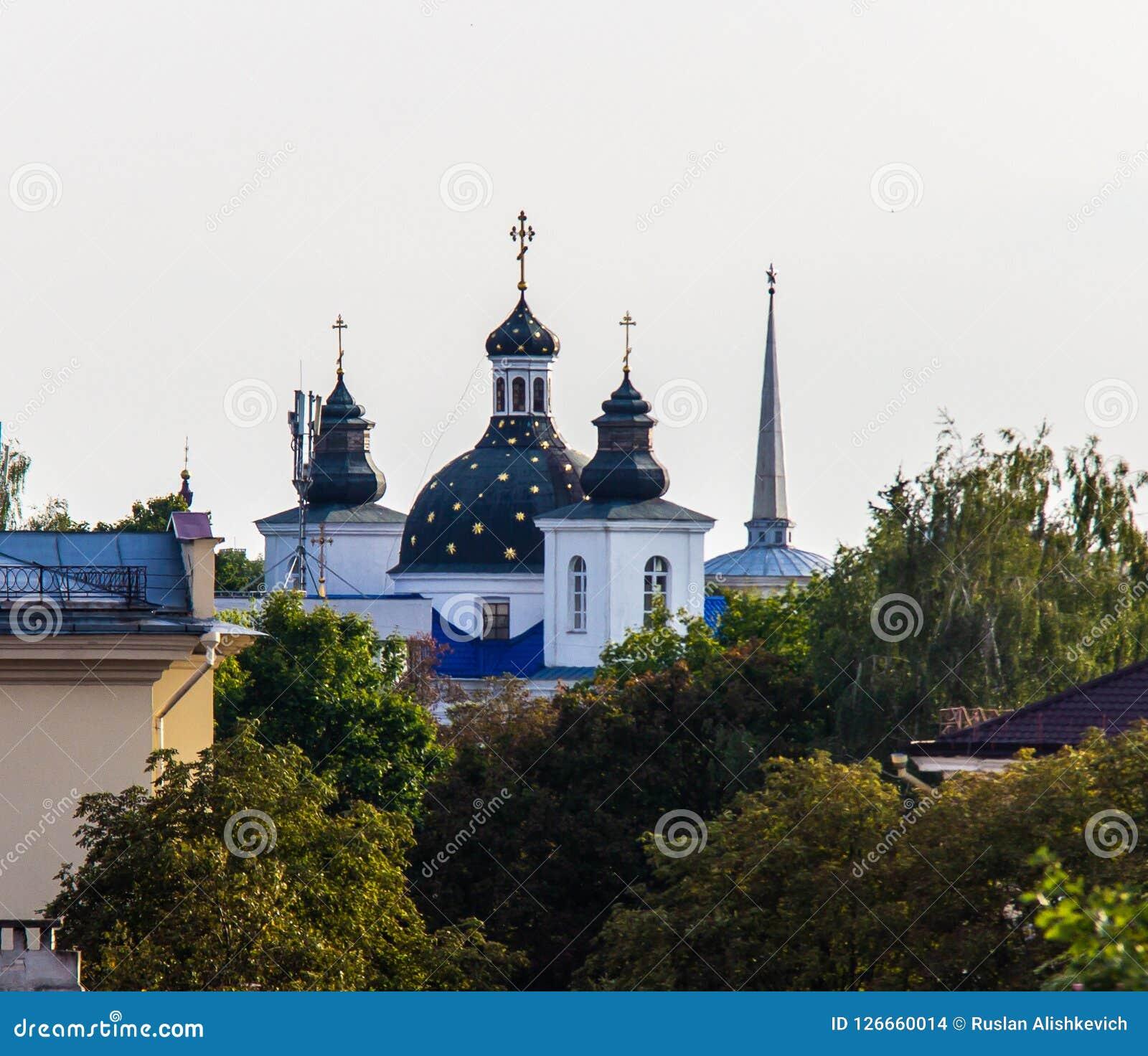 维尔京的诞生的看法修道院在哥罗德诺