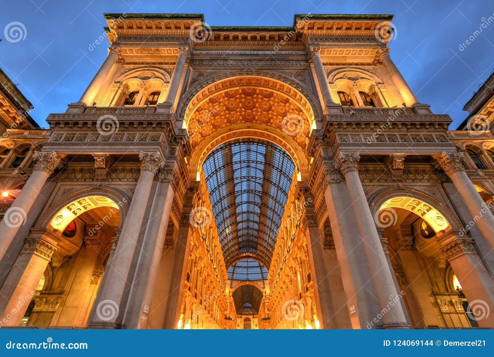 维托里奥Emanuele II画廊-米兰,意大利