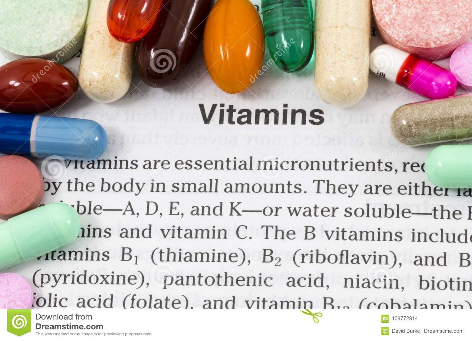 维生素补充健康文章