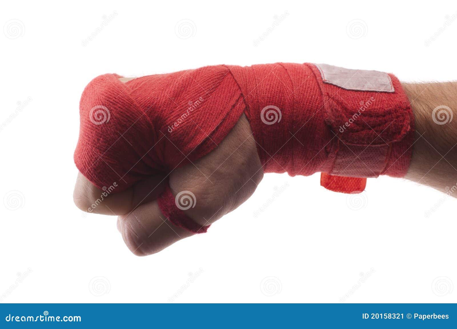 绷带拳击图片