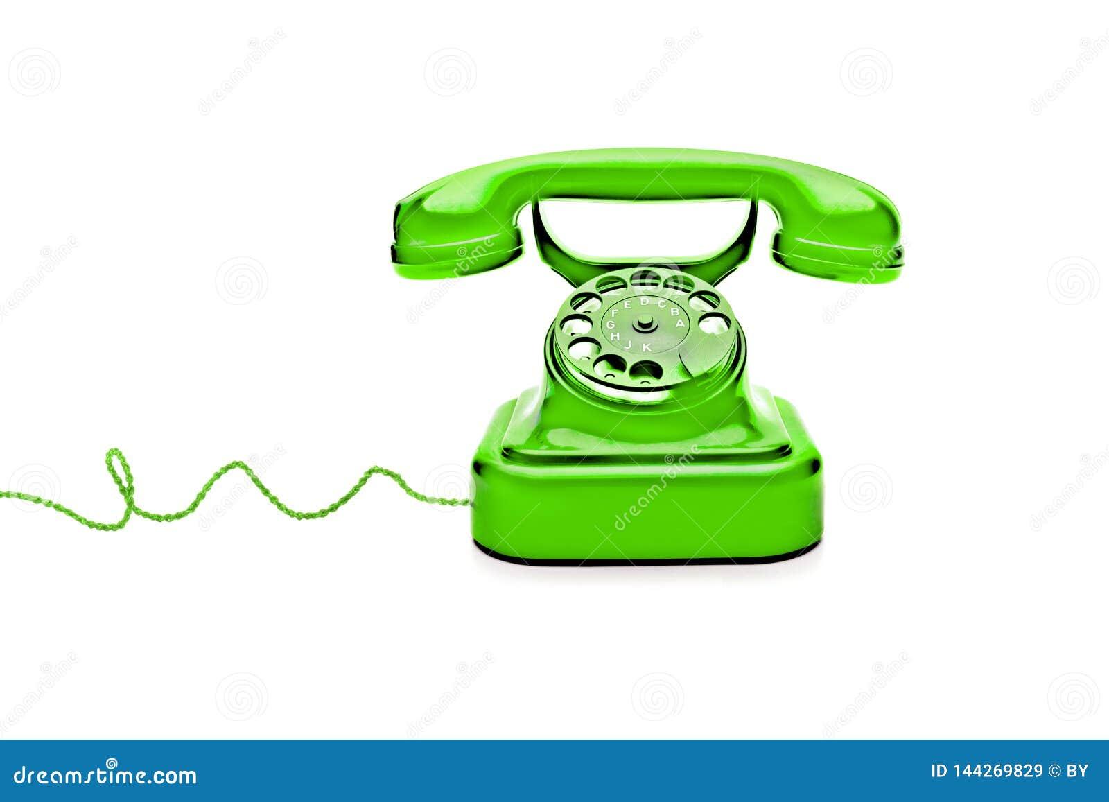 绿色减速火箭的电话