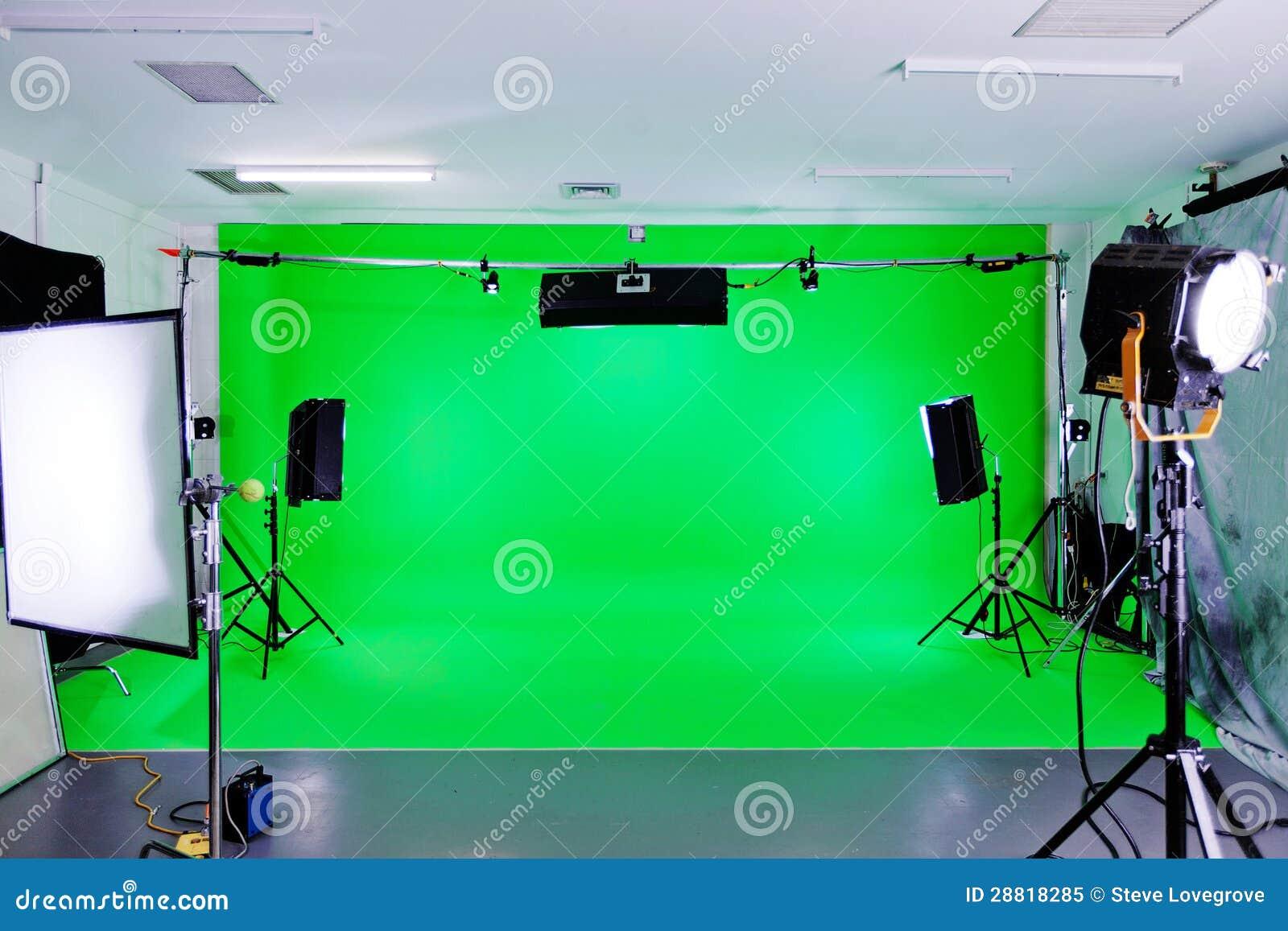 绿色屏幕工作室