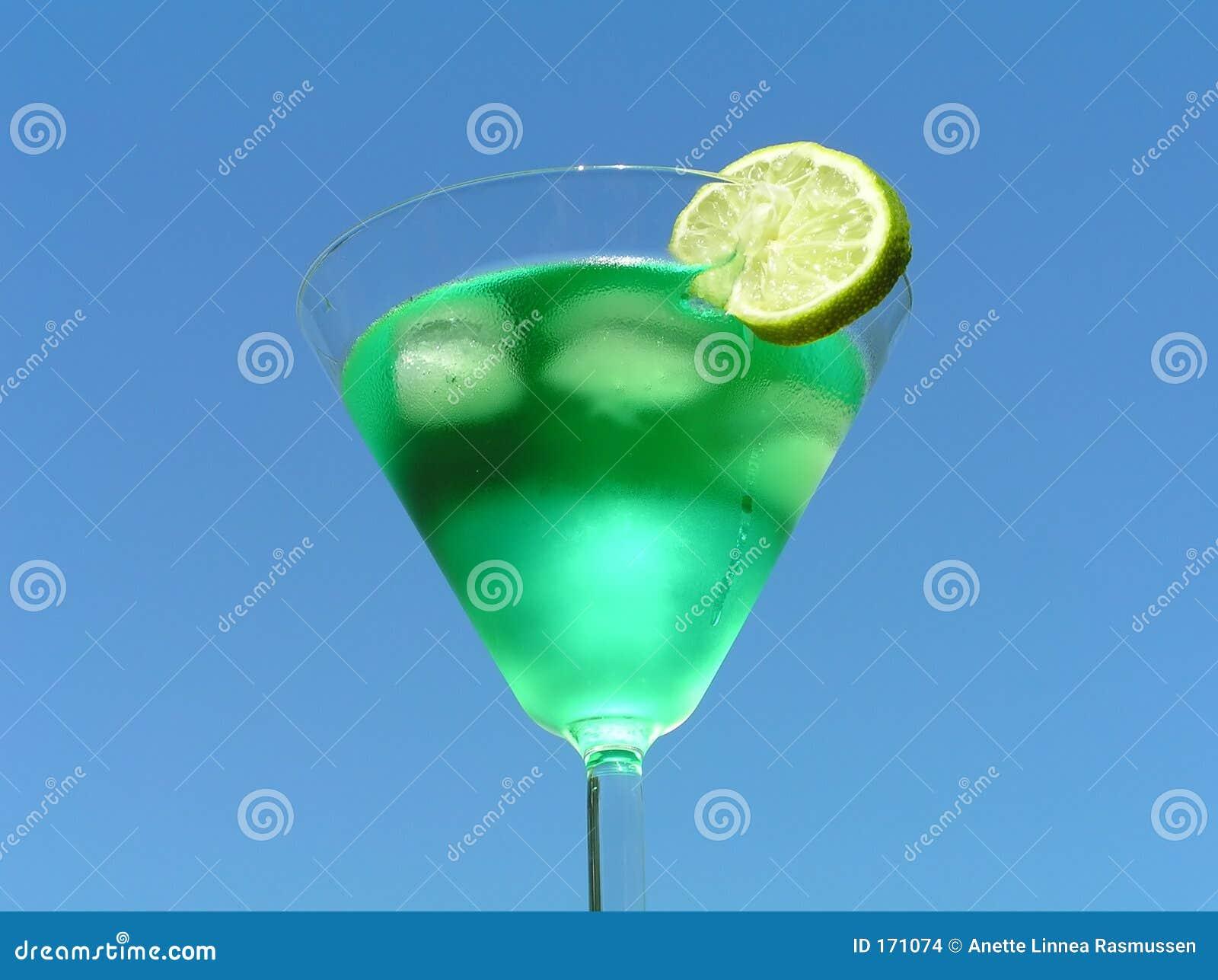 绿色柠檬液体