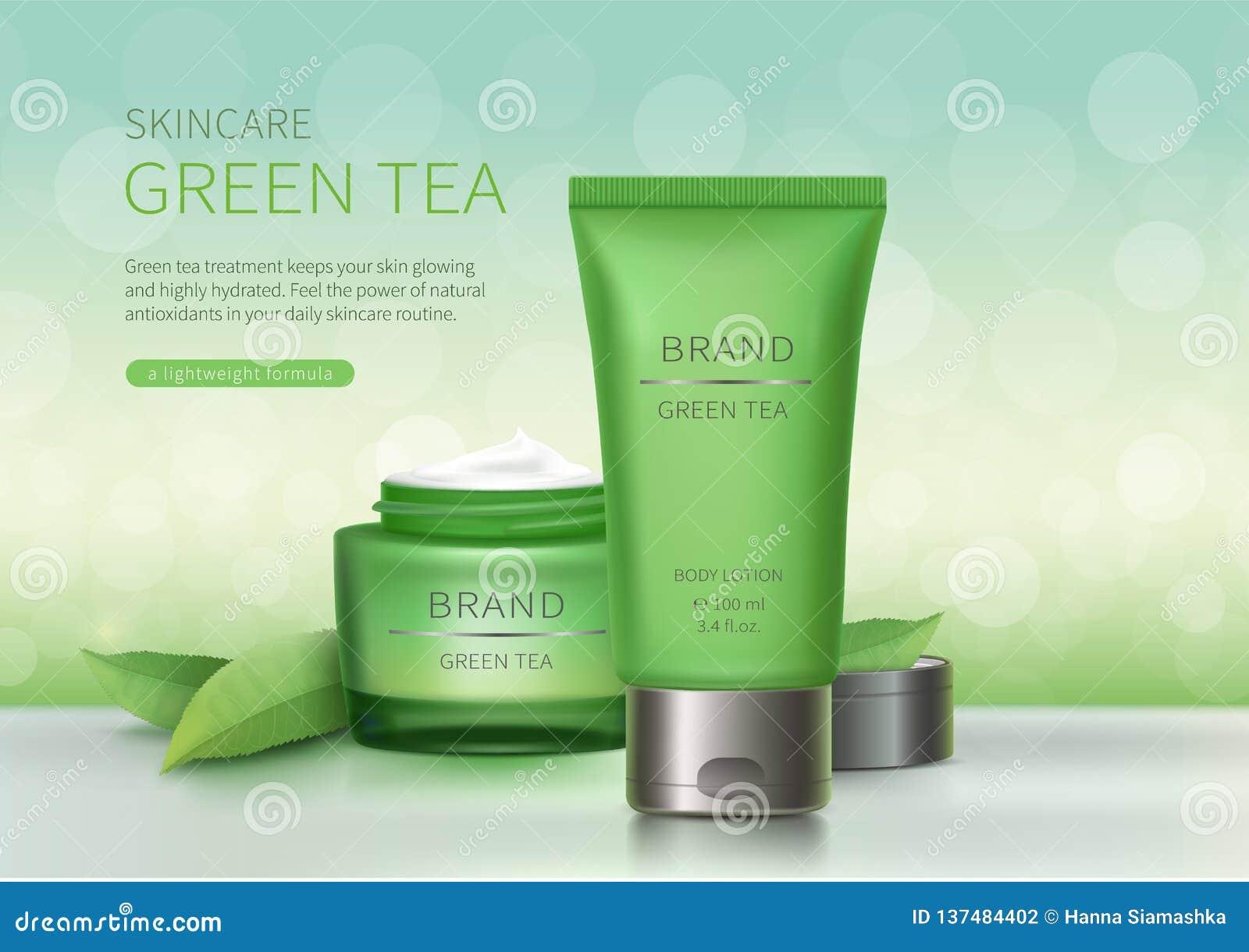 绿色玻璃瓶子和塑料管