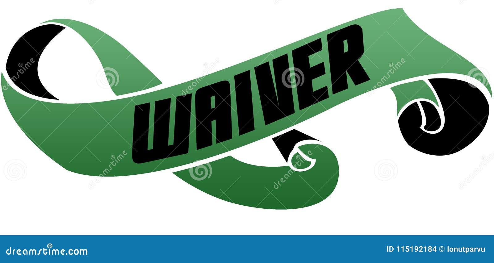 绿色移动了与放弃消息的丝带