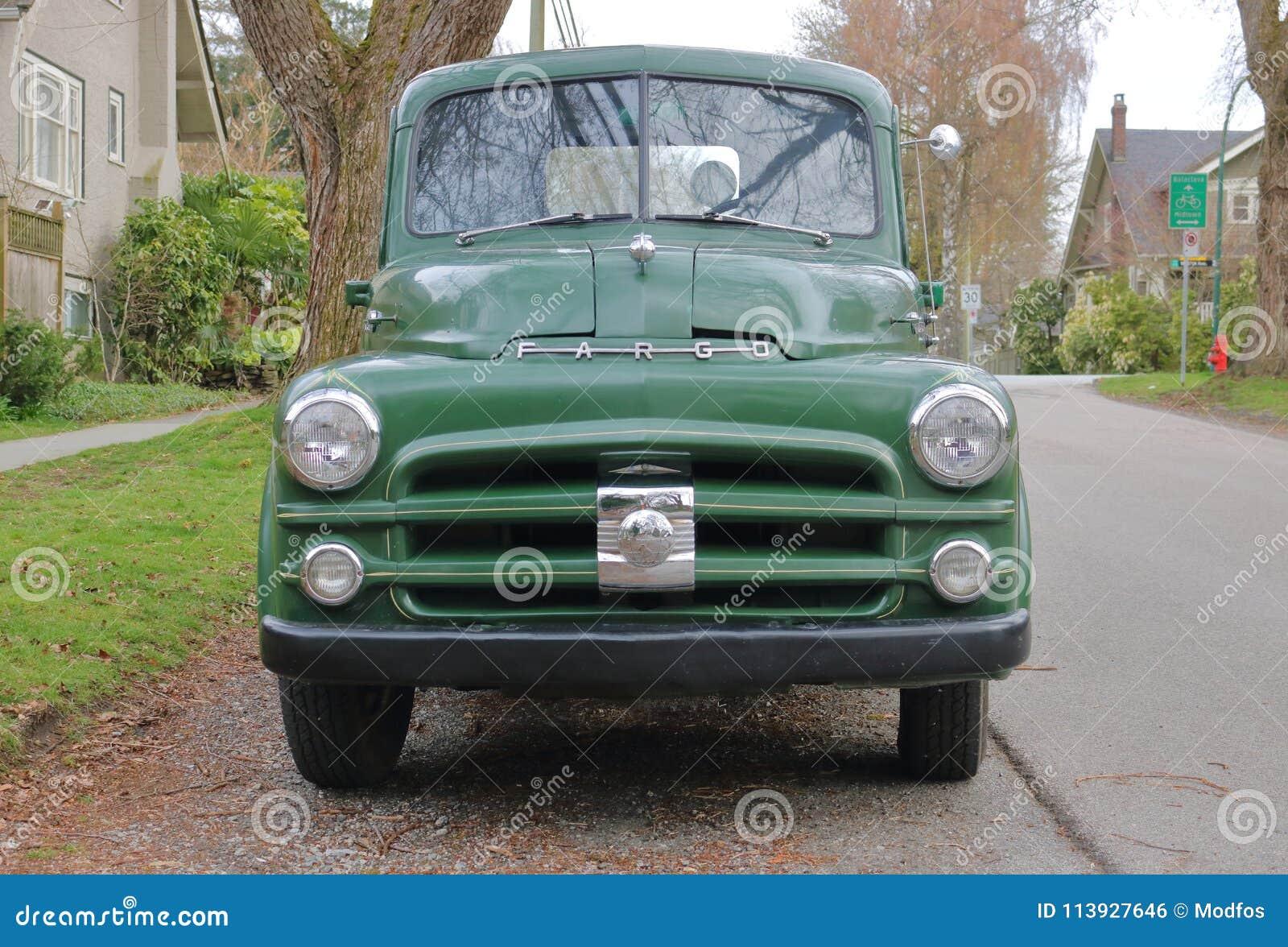 绿色1941推托法戈卡车